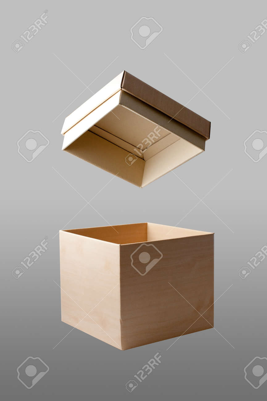 paper box image in isolated background Stock Photo - 12745201