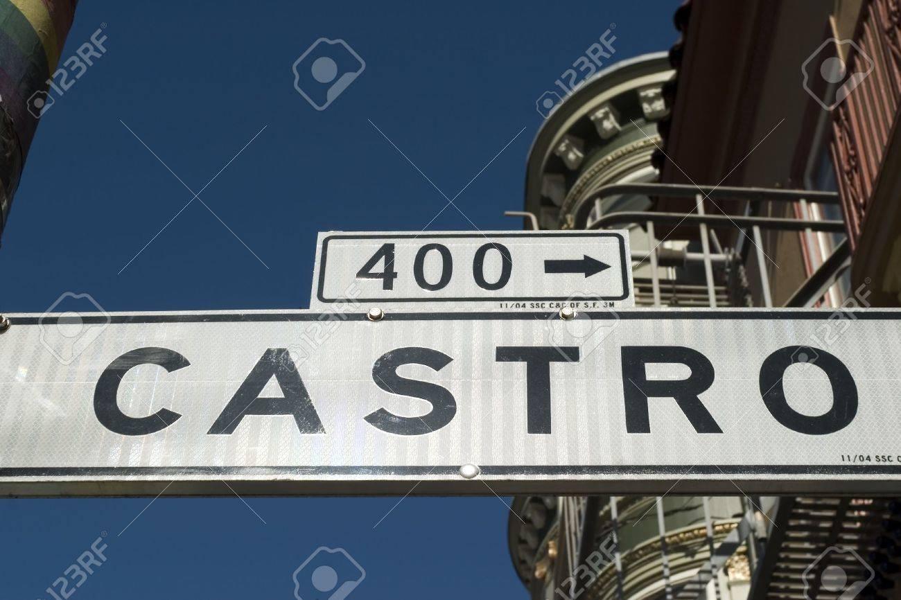 Castro Street Street Sign Castro