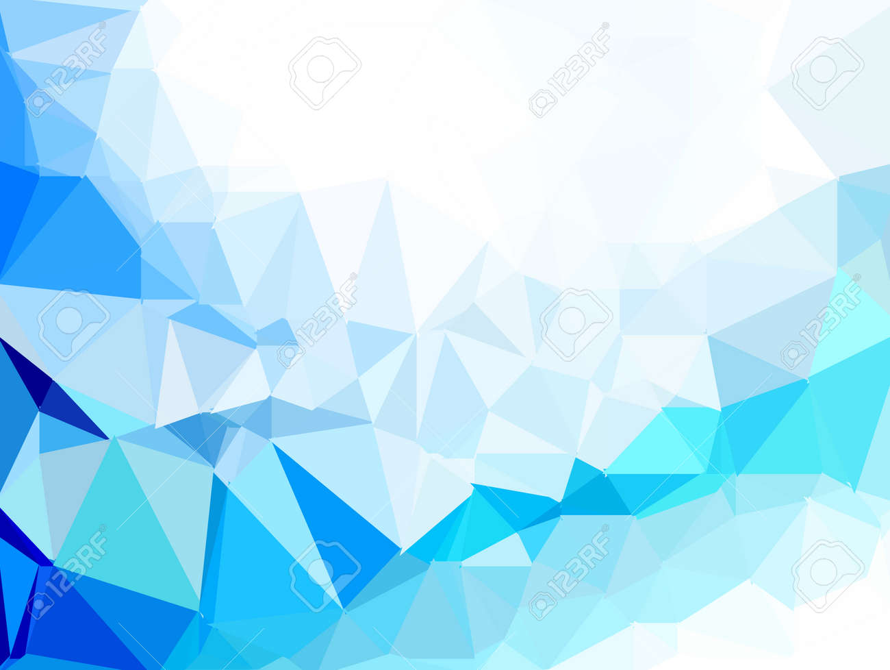blue polygon image texture background - 146984398