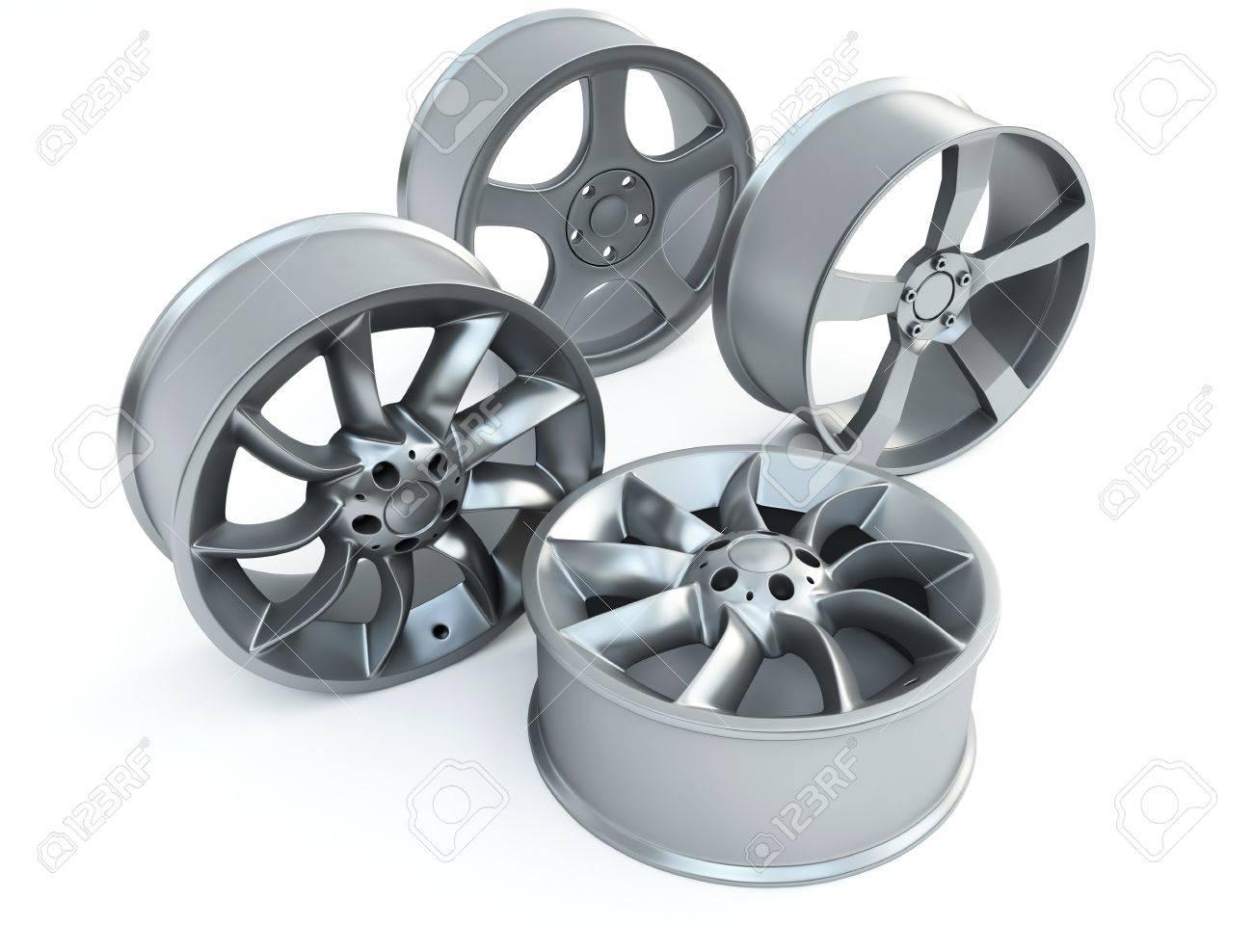 car disk wheels Stock Photo - 9640015
