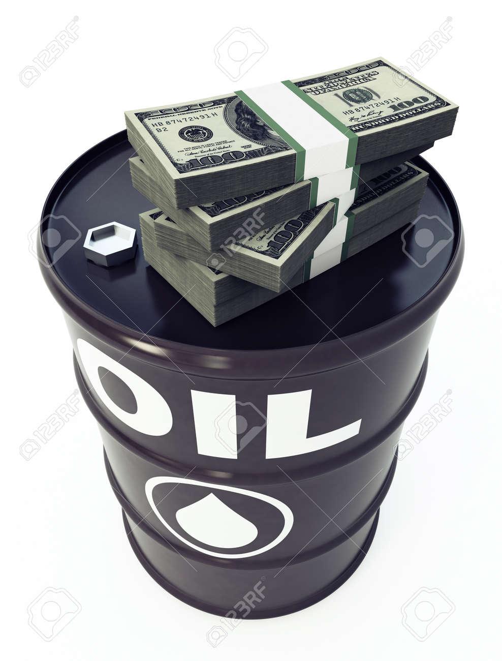 Oil Barrel Stock Photo - 9685679