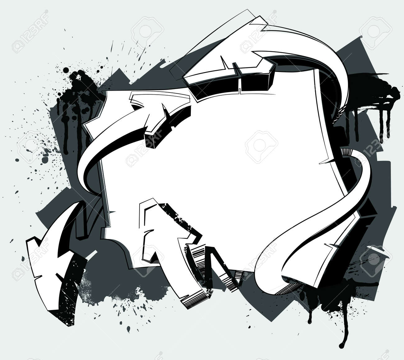 Graffiti art designs - Graffiti Background Abstract Background