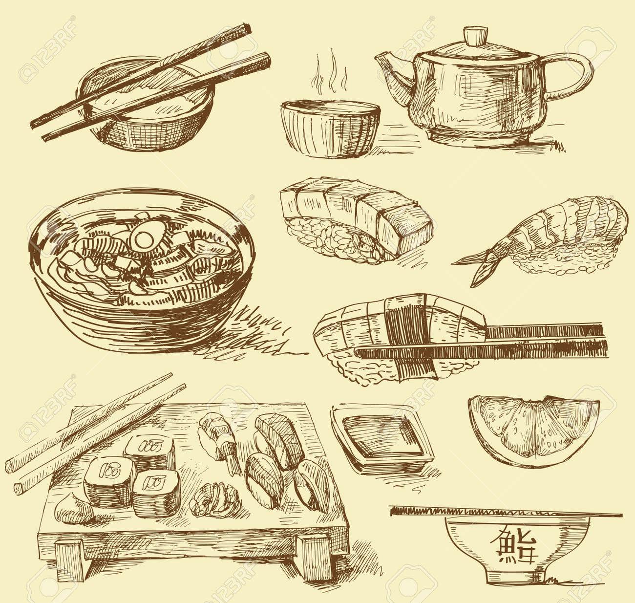 Japanese food - 12971039