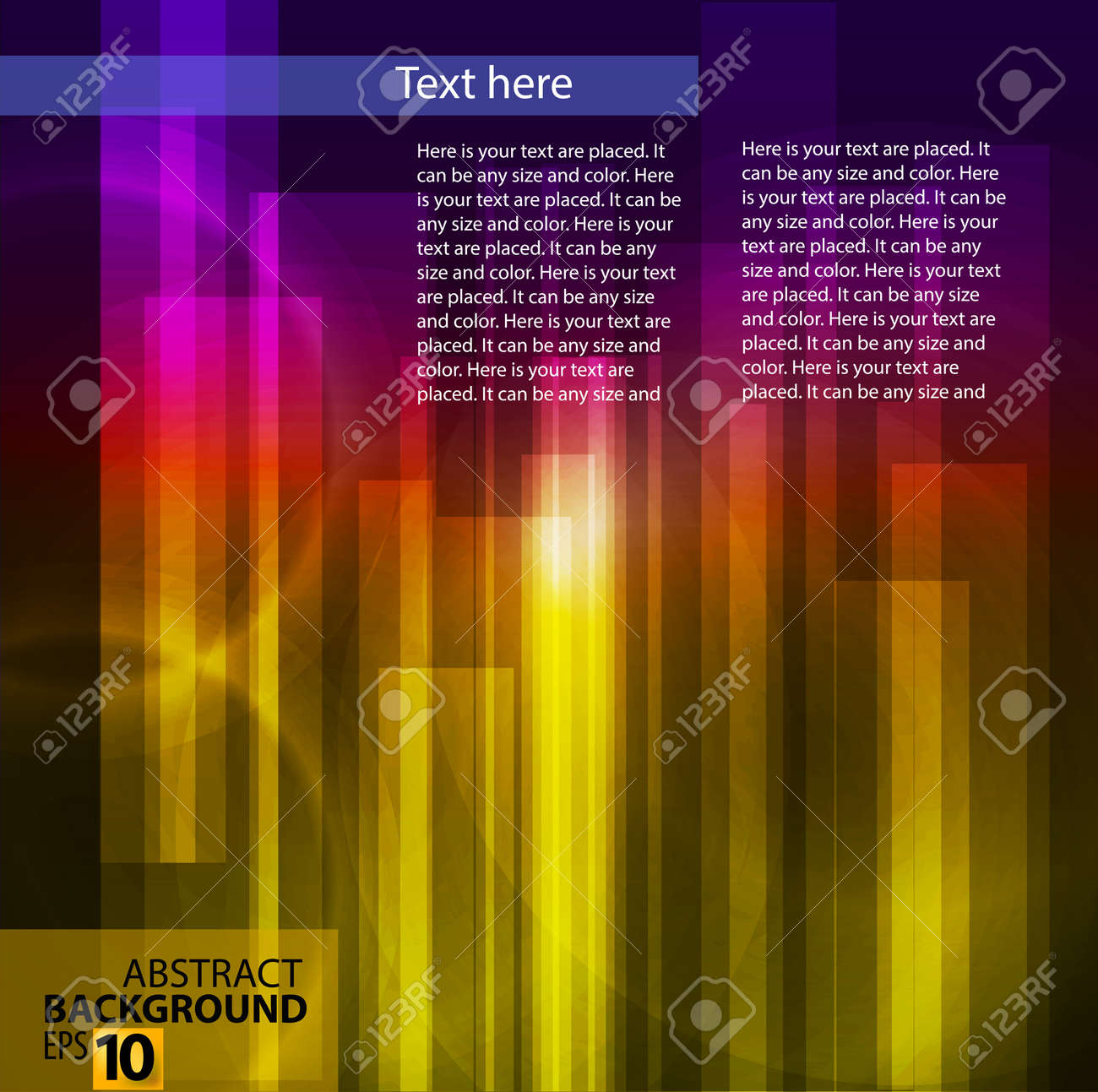 color abstract Stock Vector - 14081900