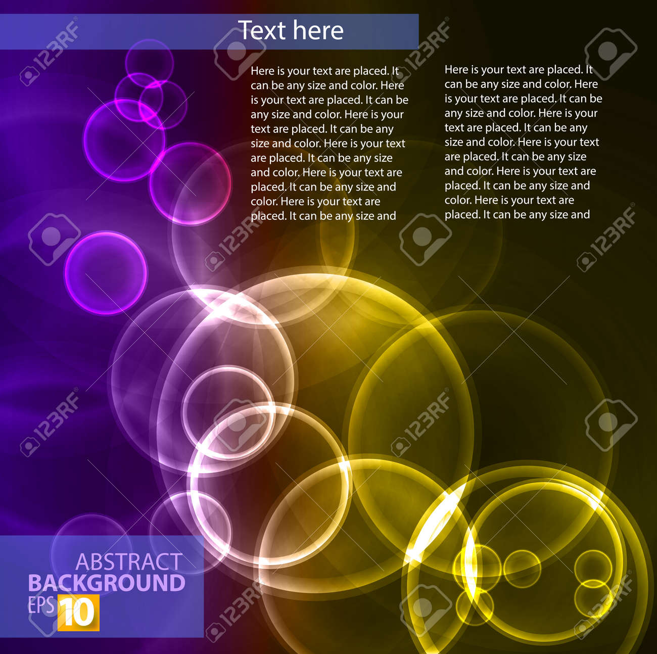 color abstract Stock Vector - 14081909