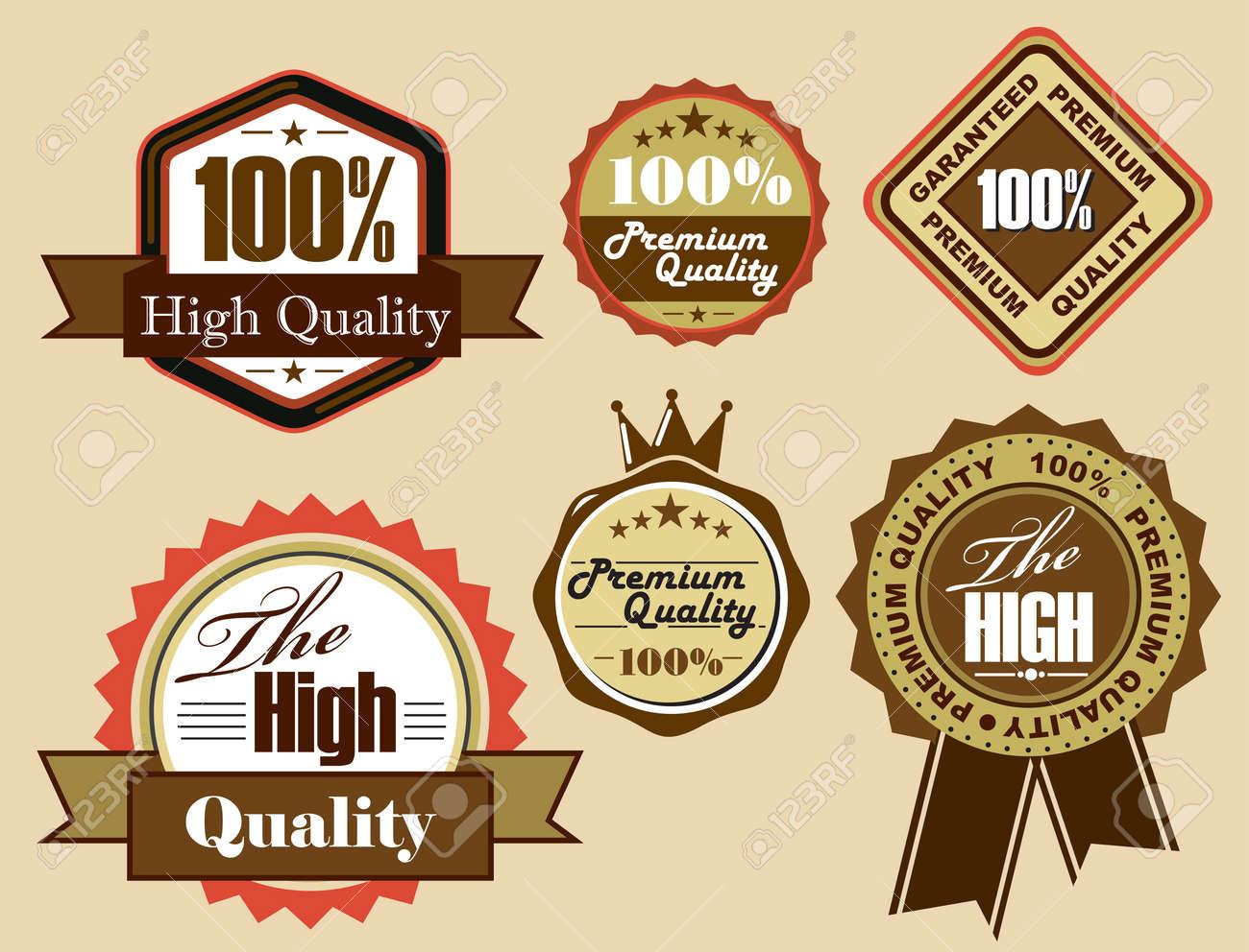 Vector Labels Stock Vector - 14303008