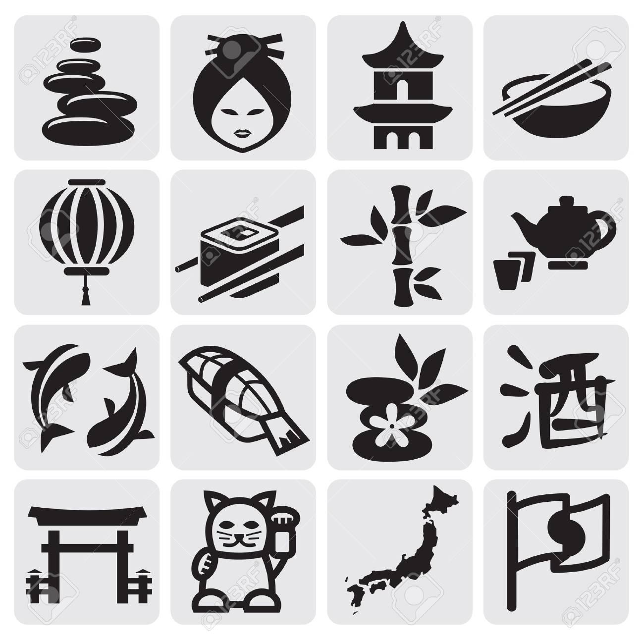 Japanese icon set - 14655251