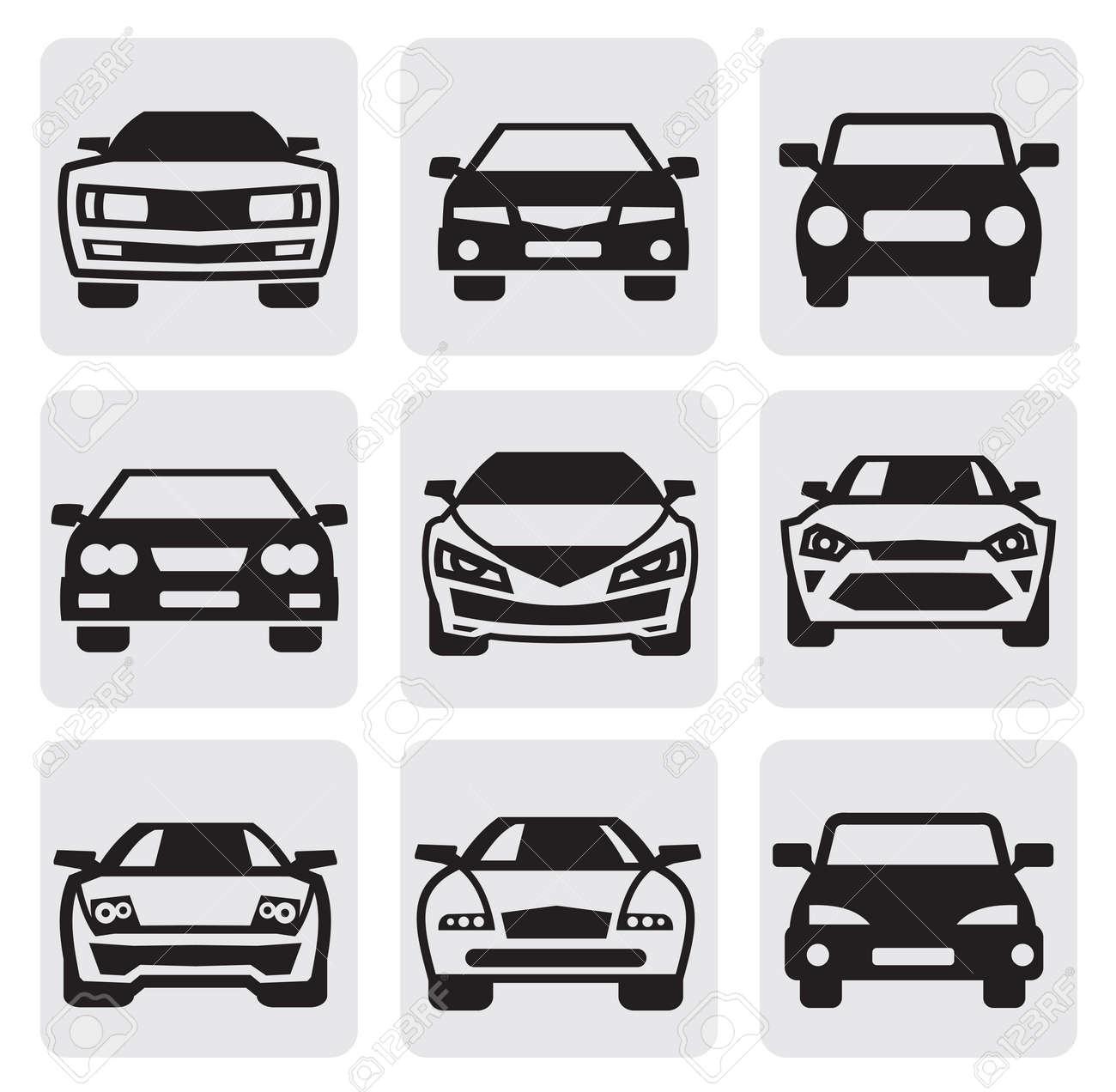Car Symbols Set Royalty Free Cliparts Vectors And Stock