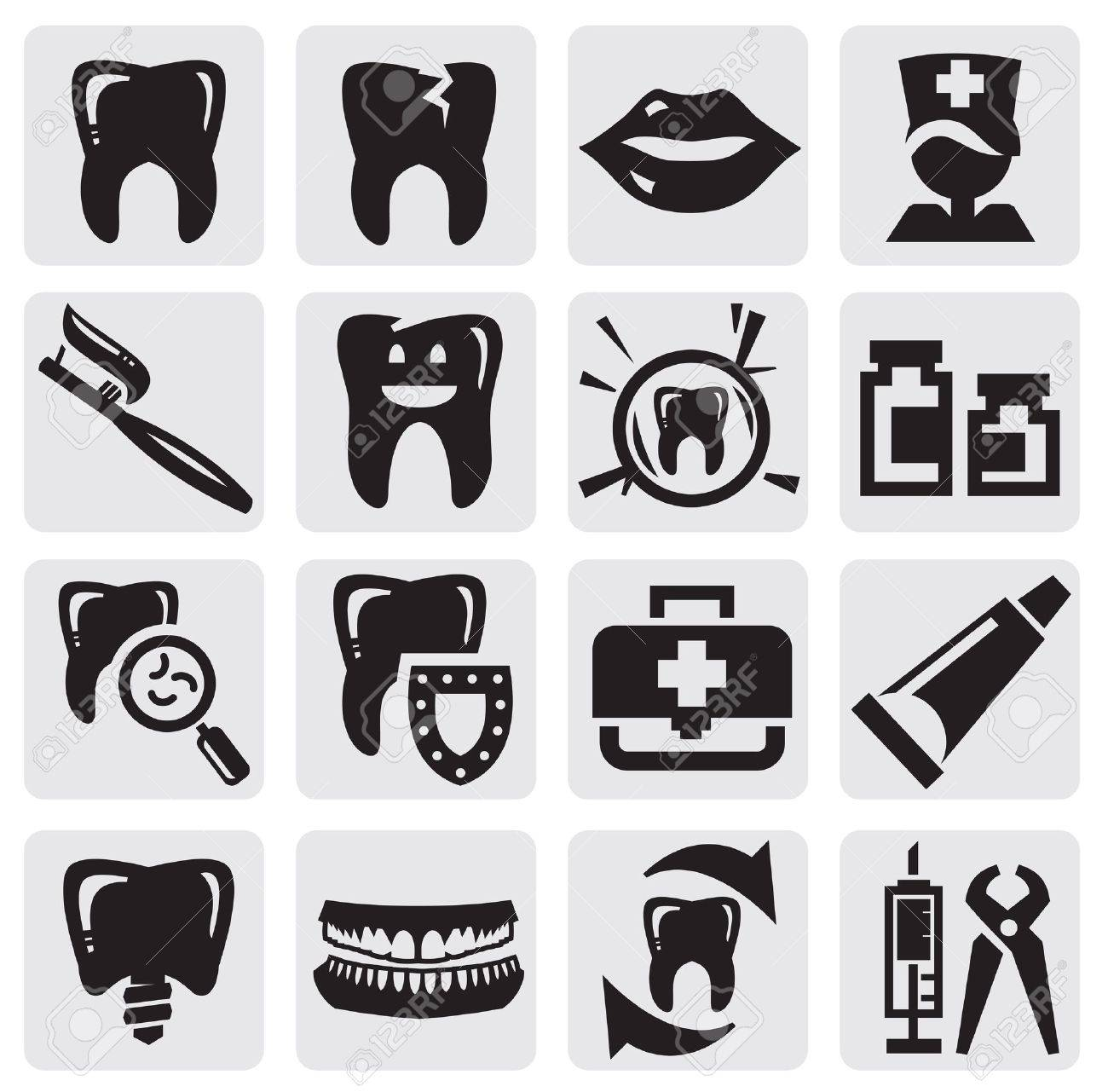 tooth icon Stock Vector - 14979999