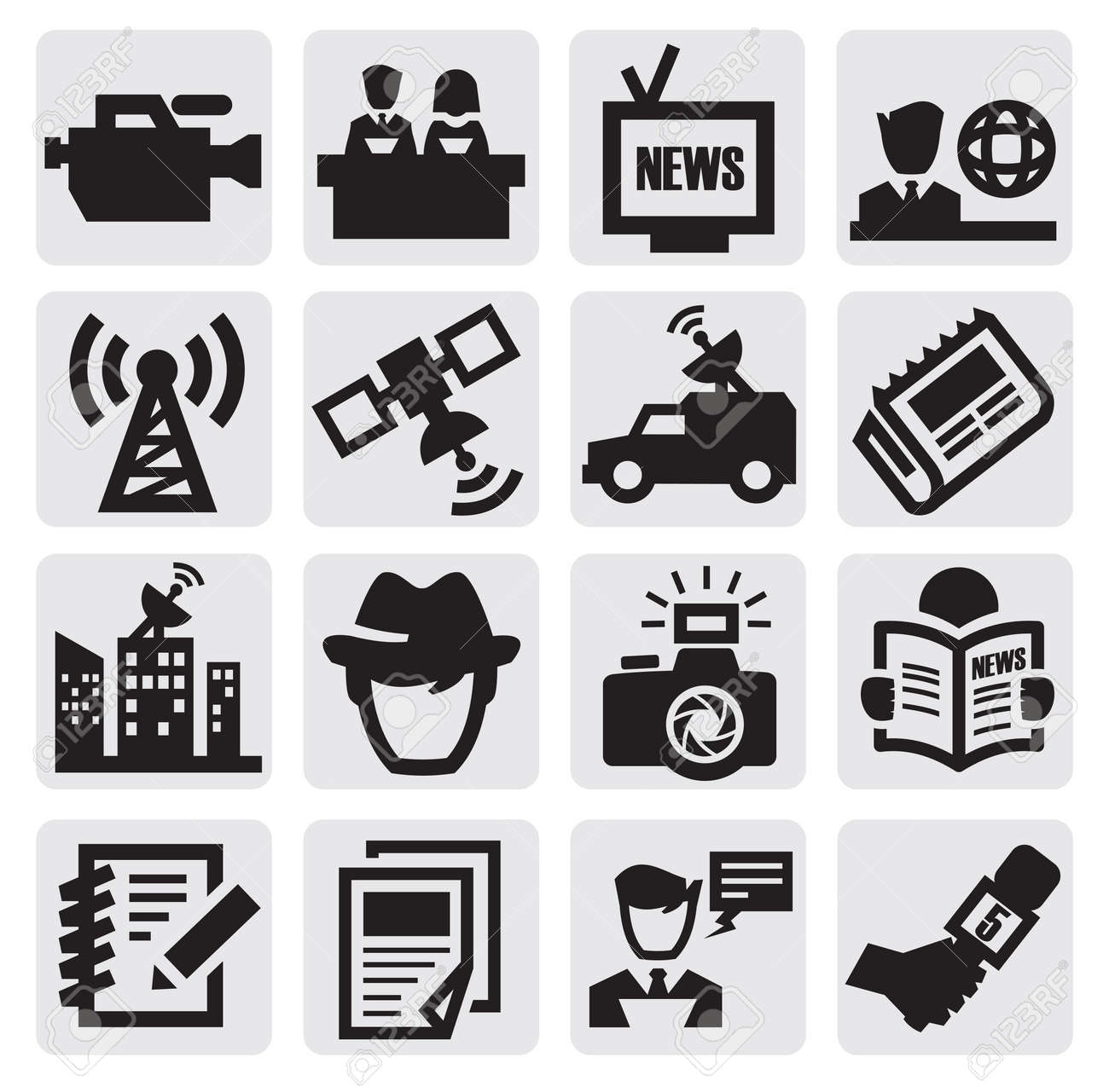 reporter icons - 15402644