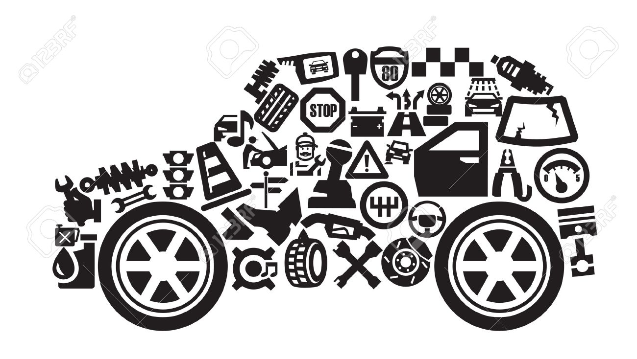 auto icons royalty free cliparts vectors and stock illustration rh 123rf com auto mechanic clipart free free automotive mechanic clipart