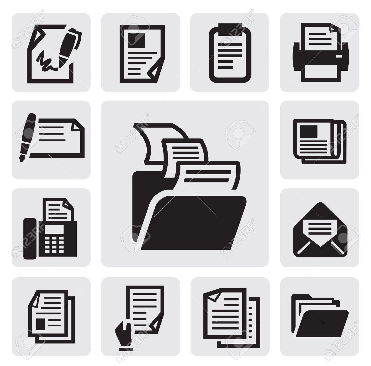 document icon Stock Vector - 15893737