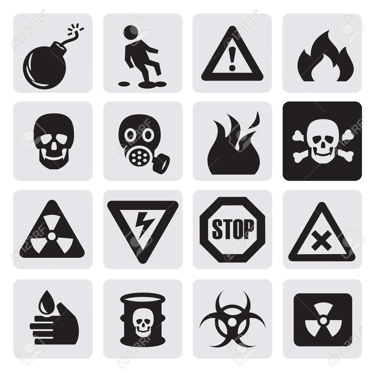 Gas Mask Signs Gas Mask Warning Sign Danger