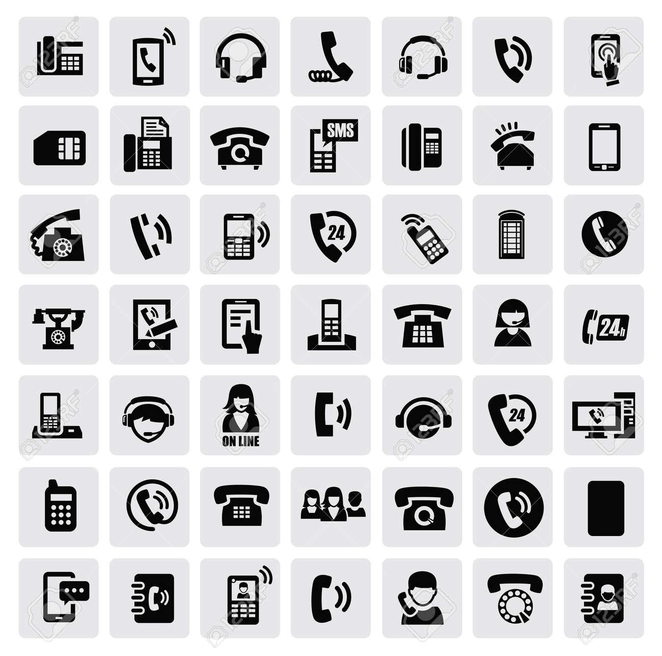 phone icons - 16936896