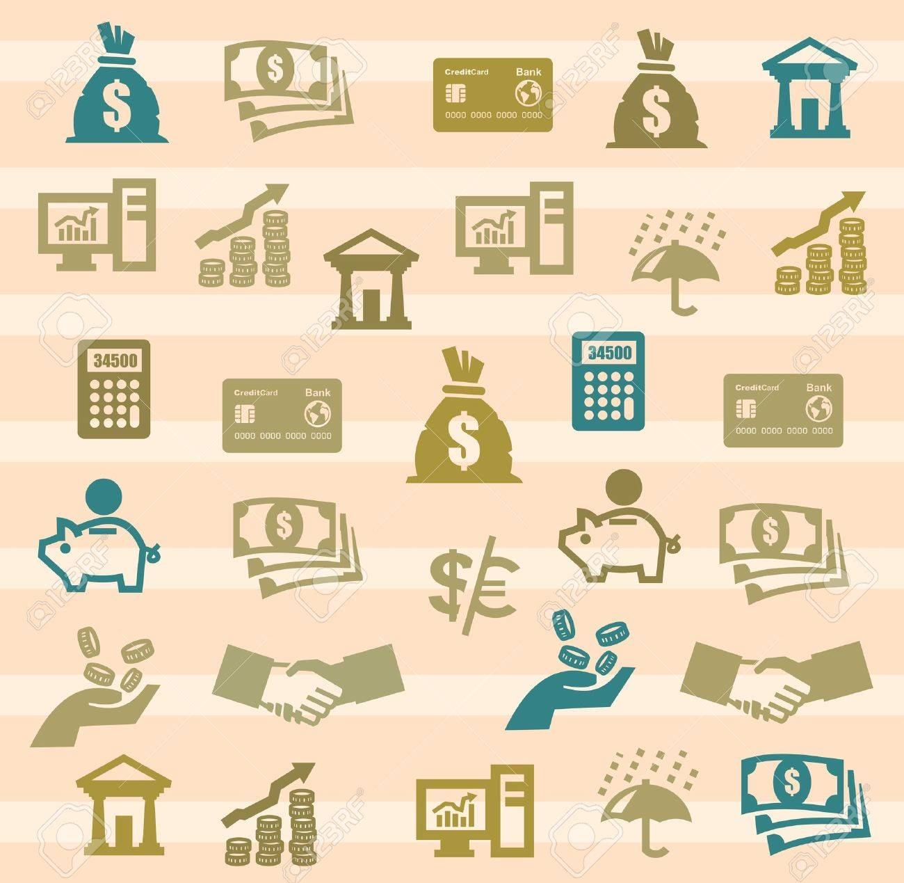 Finance Icons - 17177447