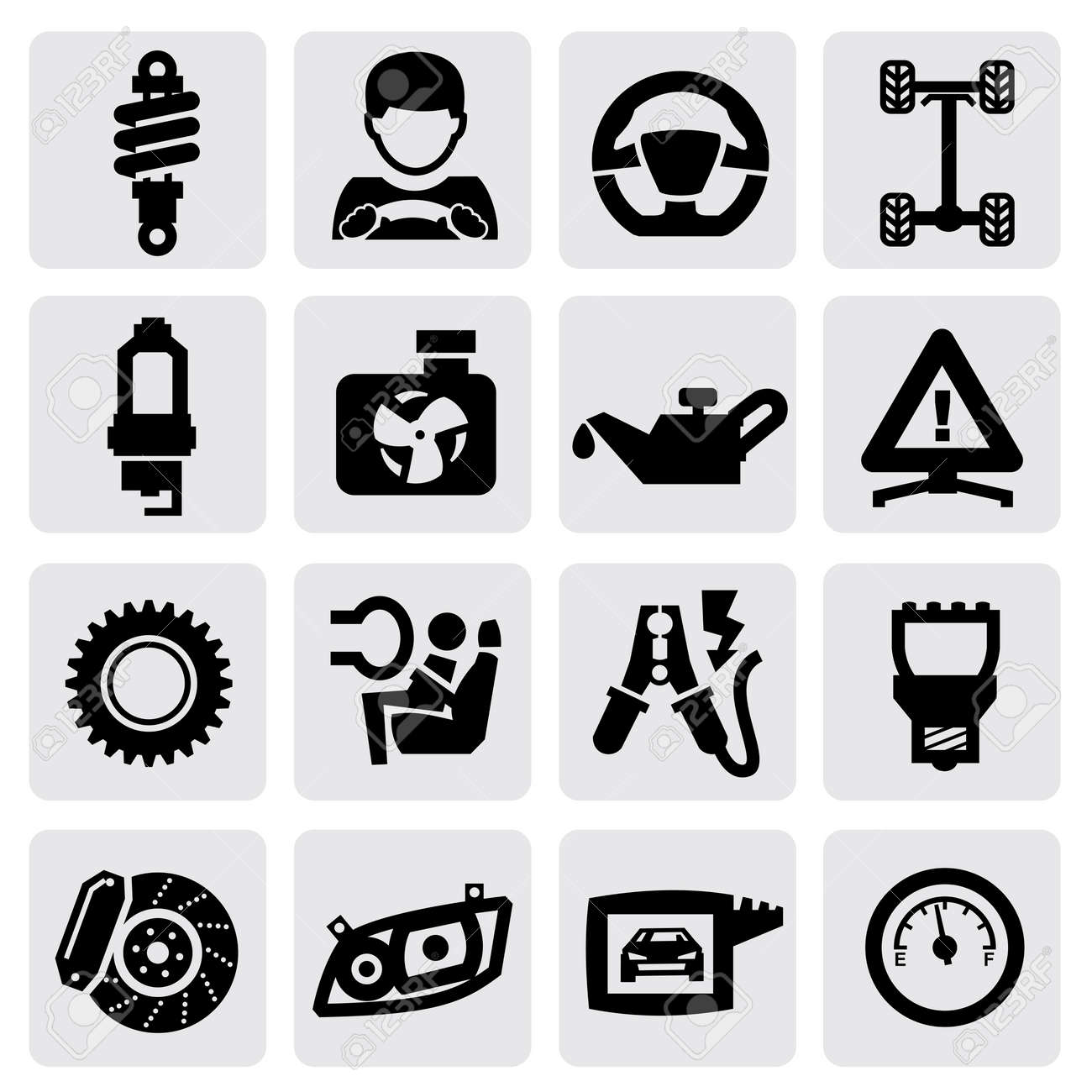 auto icon Stock Vector - 17223434
