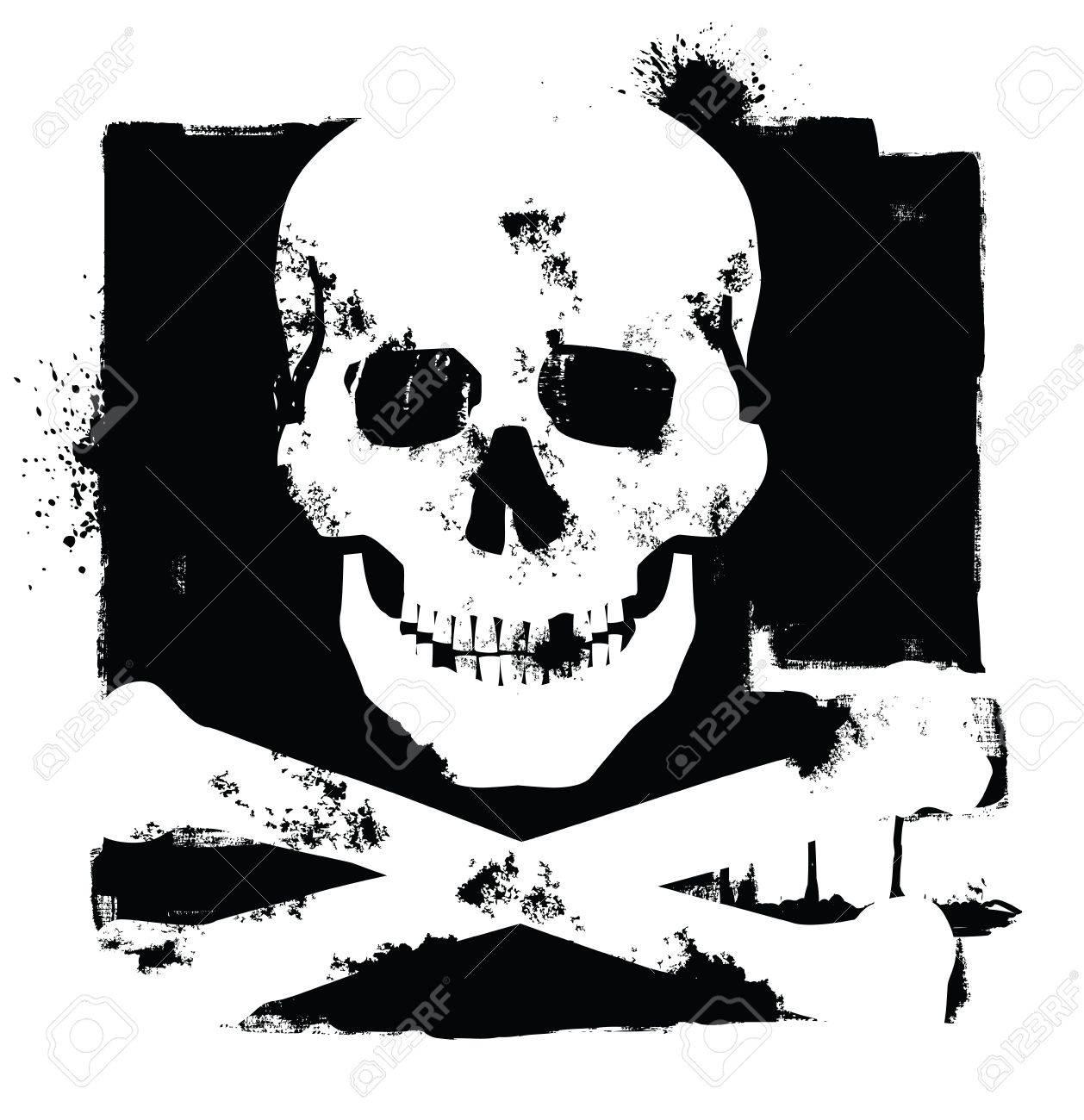 skull icon Stock Vector - 17666822