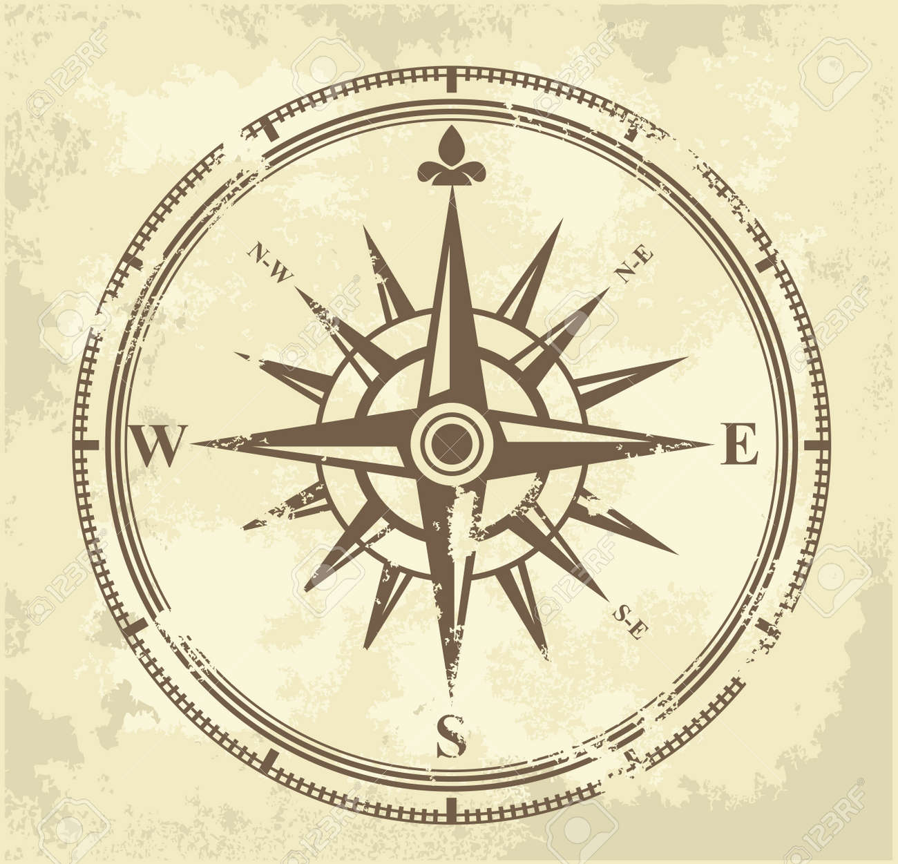12,880 Compass Rose Stock Illustrations, Cliparts And Royalty Free ...