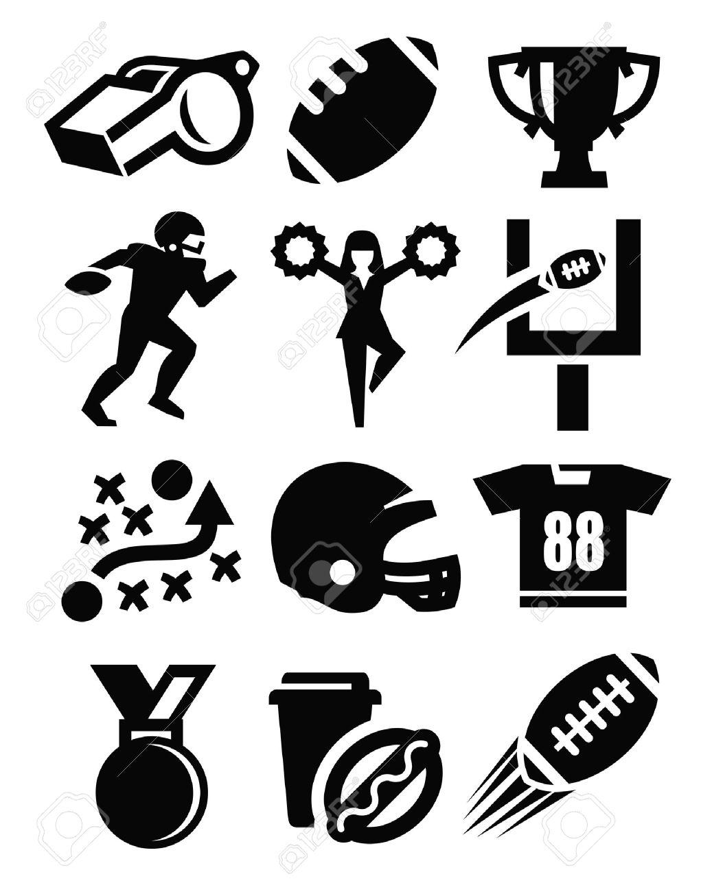 american football icon - 17667251