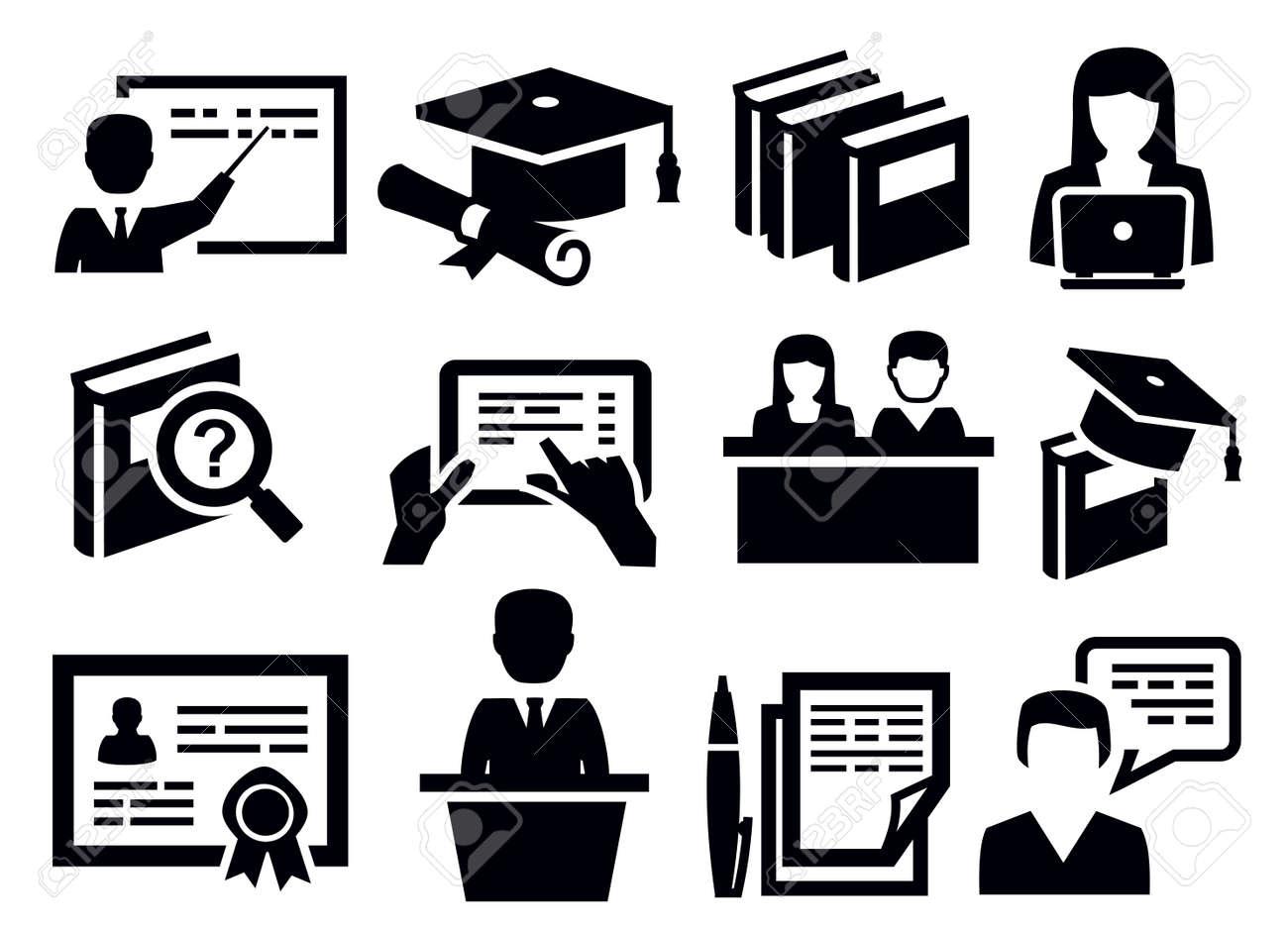 Education Icon Stock Photos Images. Royalty Free Education Icon ...