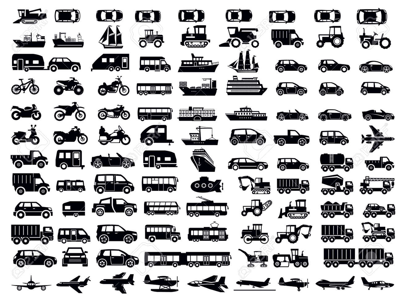 transportation icon Stock Vector - 18701662