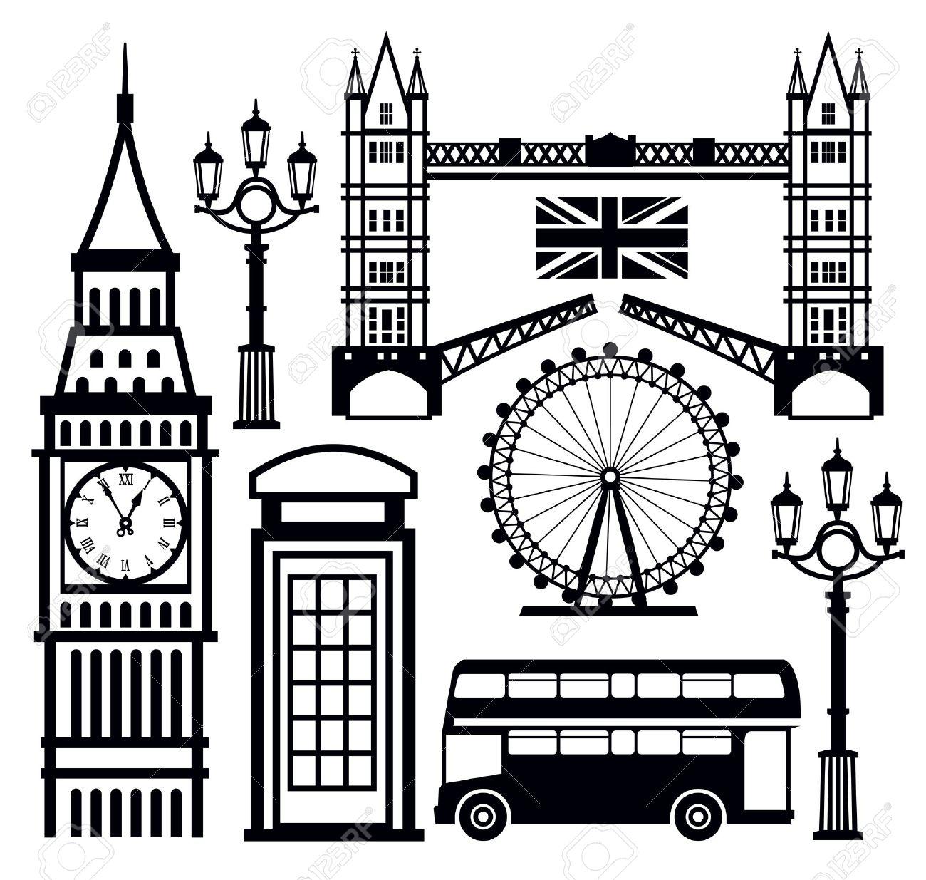 london icon Stock Vector - 18902689