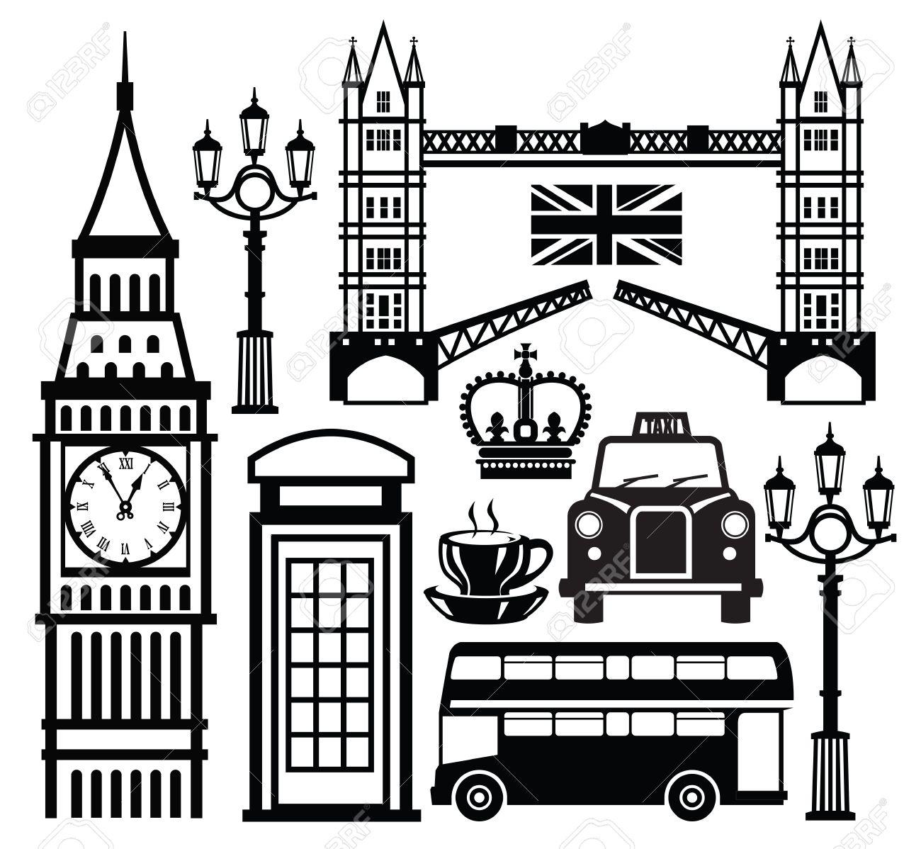 london icon Stock Vector - 18992368