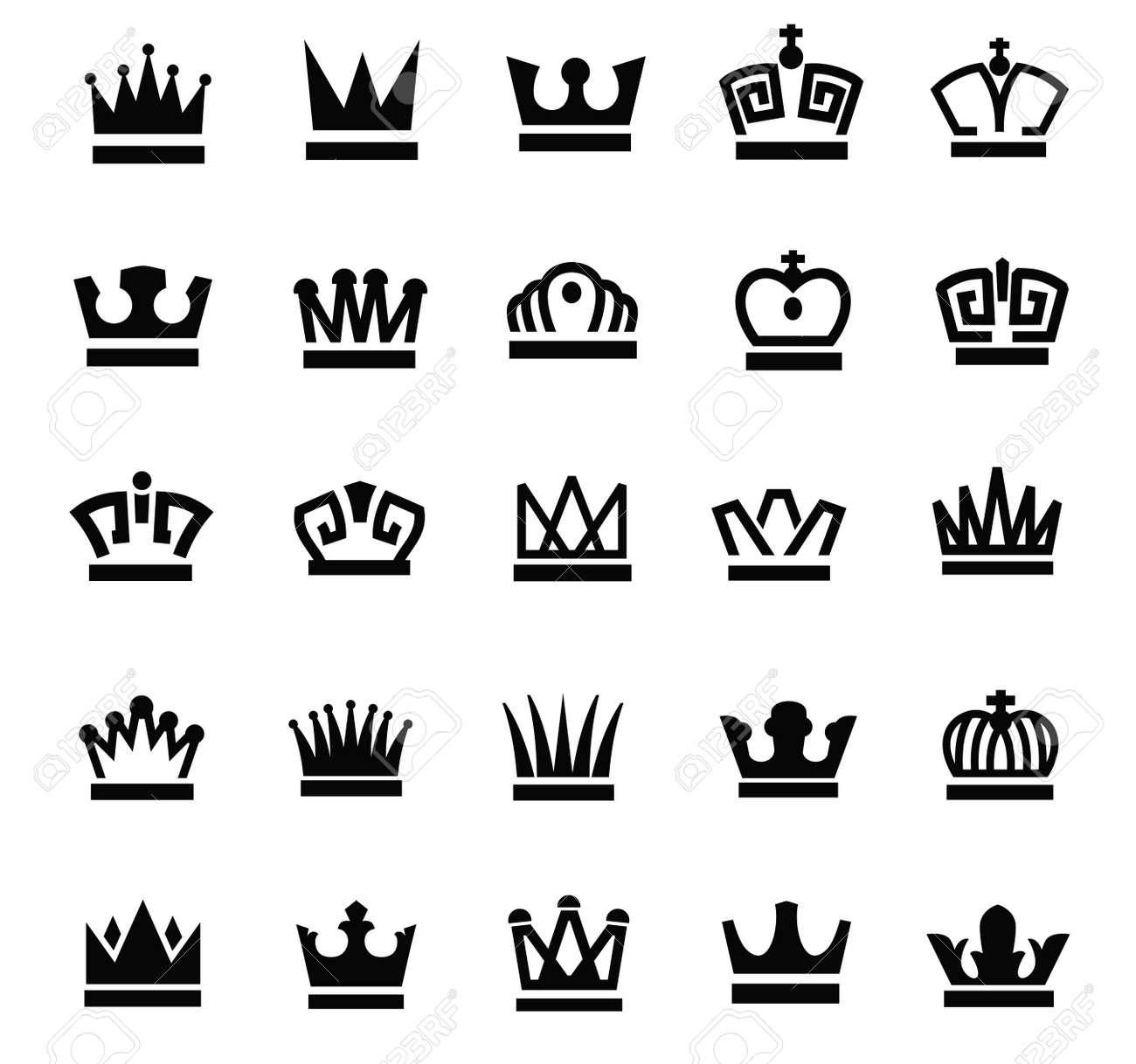 Black Royal Royal Crown Black Crown Icons