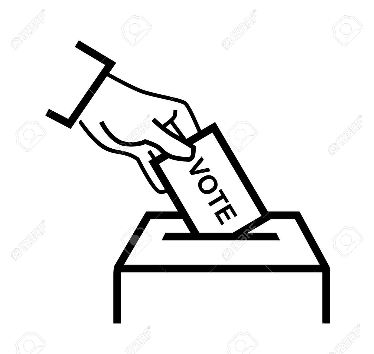 Voting Ballot Box Election Clip Art - Polling Place - General Transparent  PNG