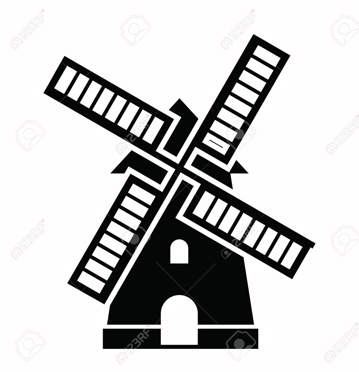 windmill icon royalty free cliparts vectors and stock illustration rh 123rf com vector windmill color windmill vector clipart