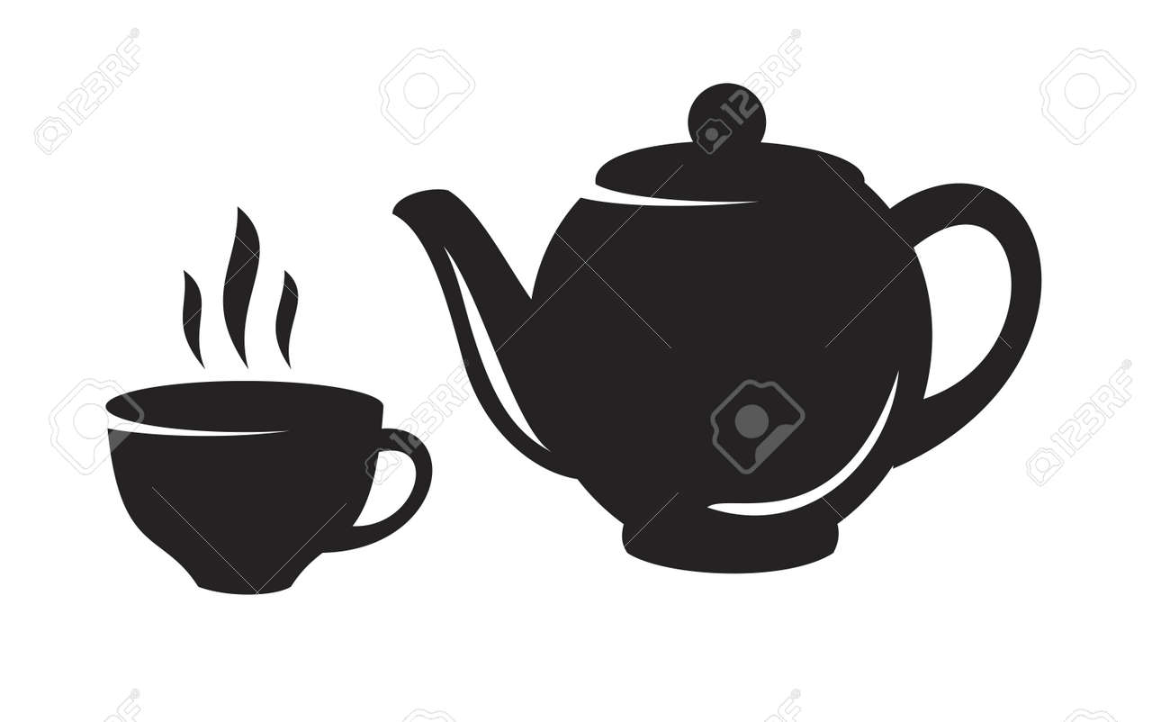 vector black tea icon on white background royalty free cliparts vectors and stock illustration image 49527925 vector black tea icon on white background