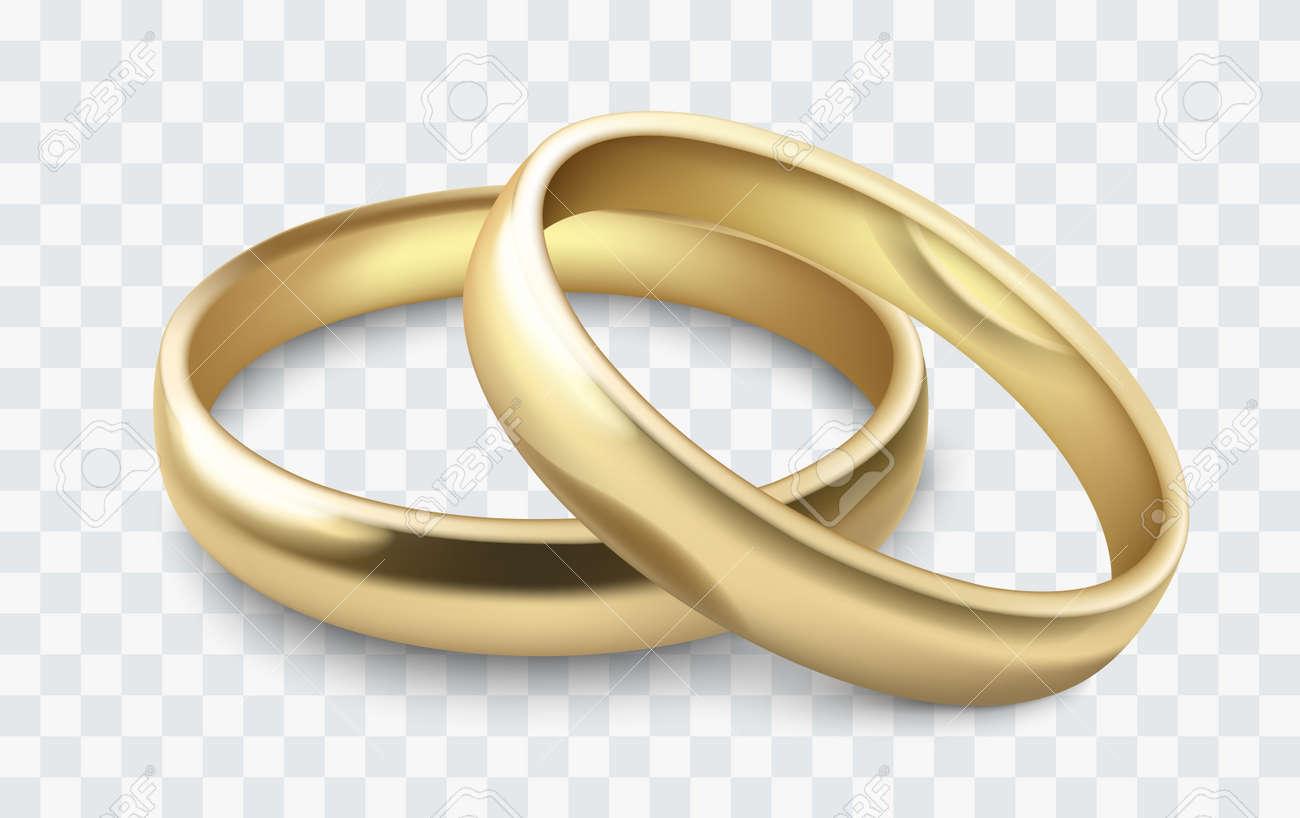 vector wedding rings - 77974837