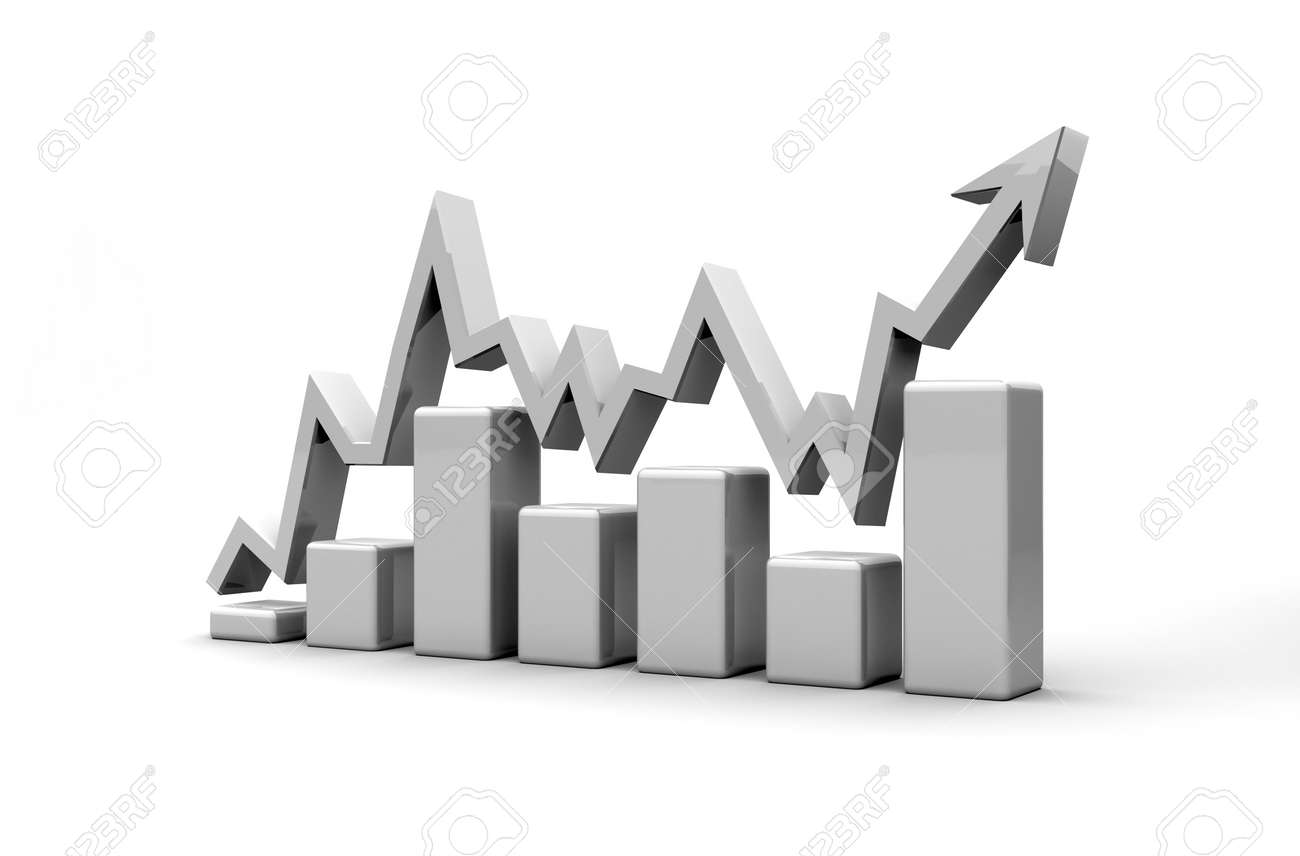 business finance chart, diagram, bar, graphic Stock Photo - 10456147