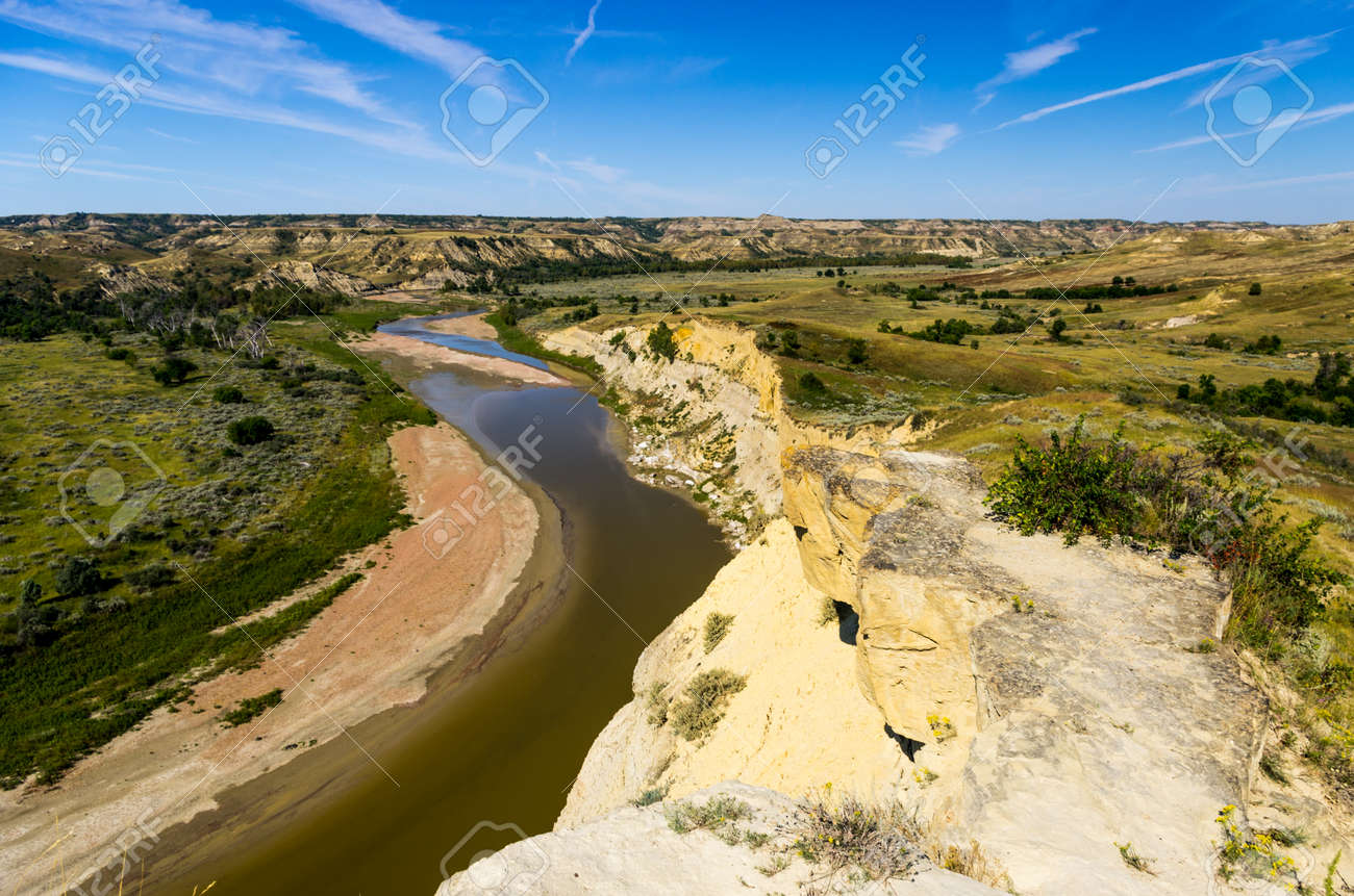 The little missouri river valley stock photo picture and royalty stock photo the little missouri river valley publicscrutiny Gallery