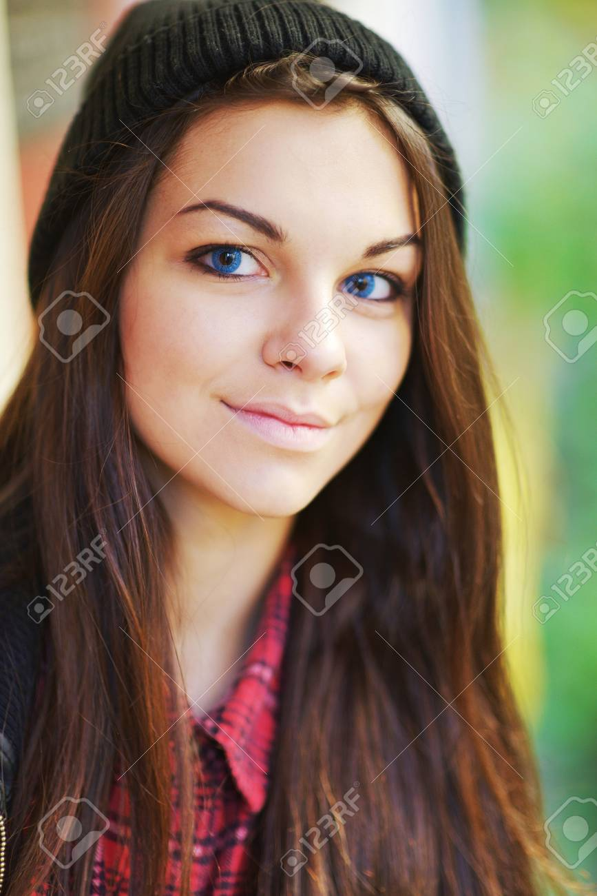 Teens With Blue Eyes