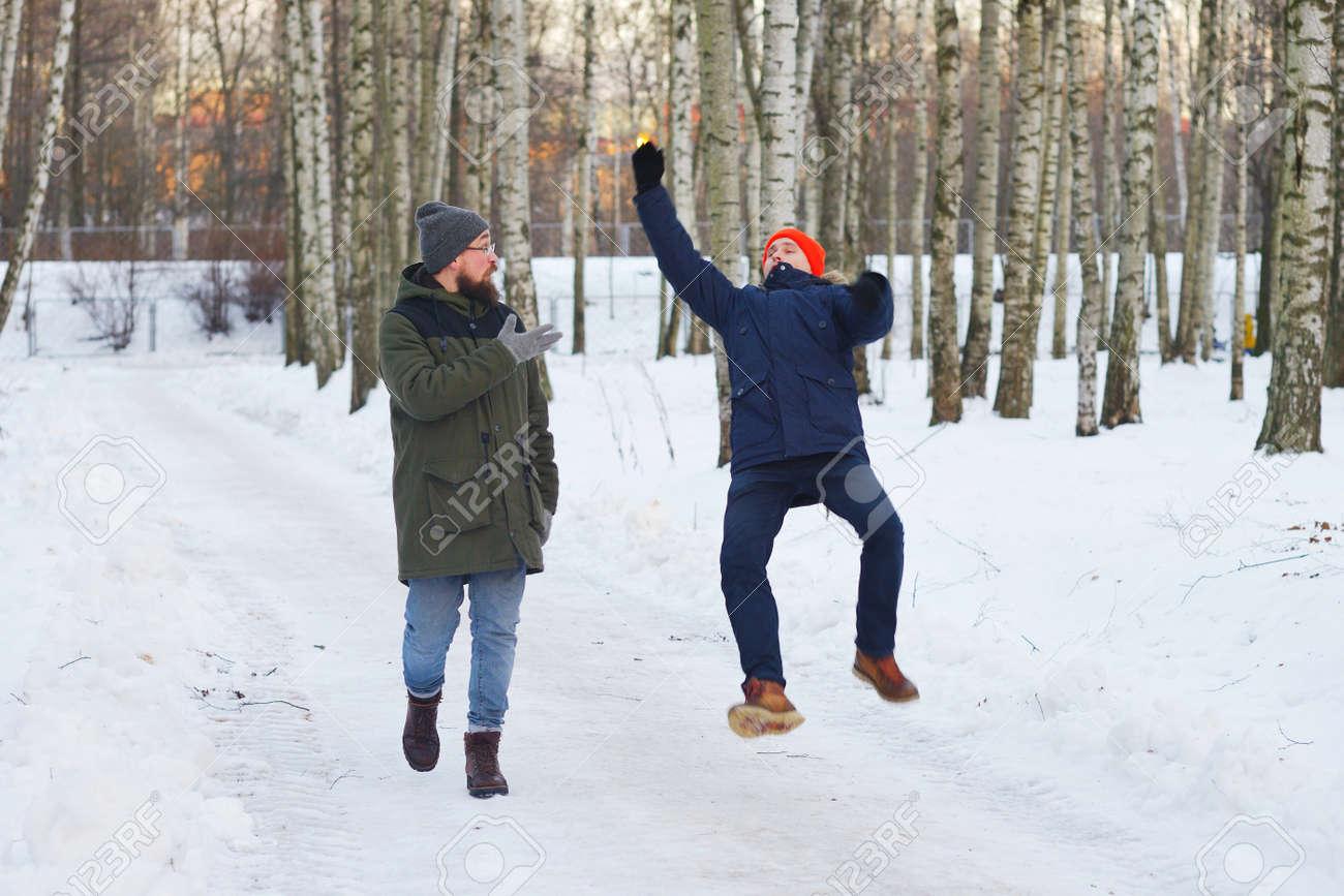 Zwei Freunde aus 40 Tagen