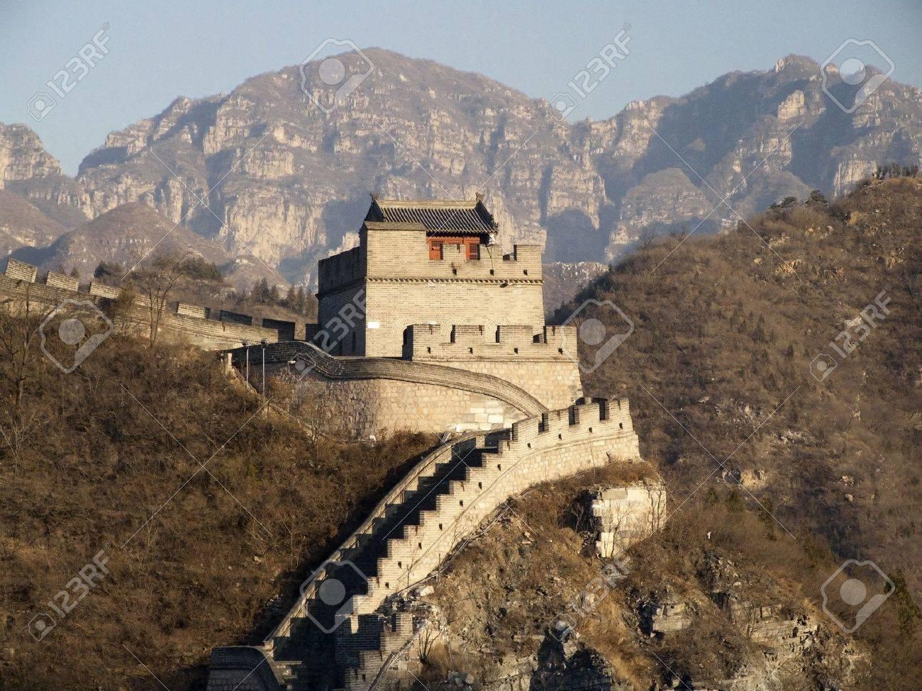 GREAT WALL OF CHINA - BADALING Stock Photo - 14606162