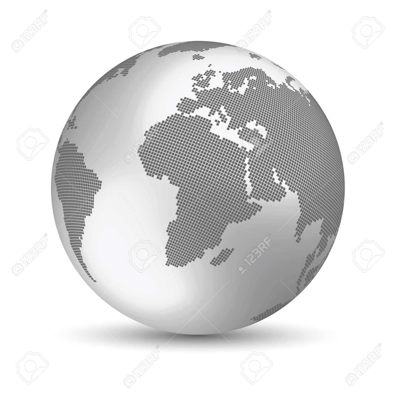 Digital Earth concept Stock Vector - 14515844