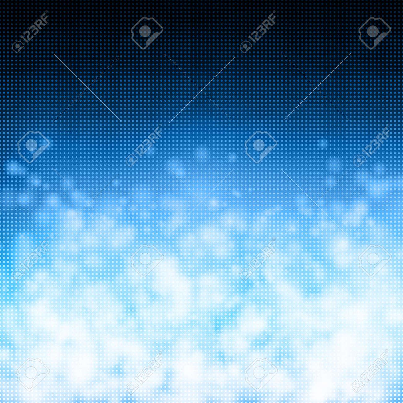 Bubbles on matrix technology background - 14515956