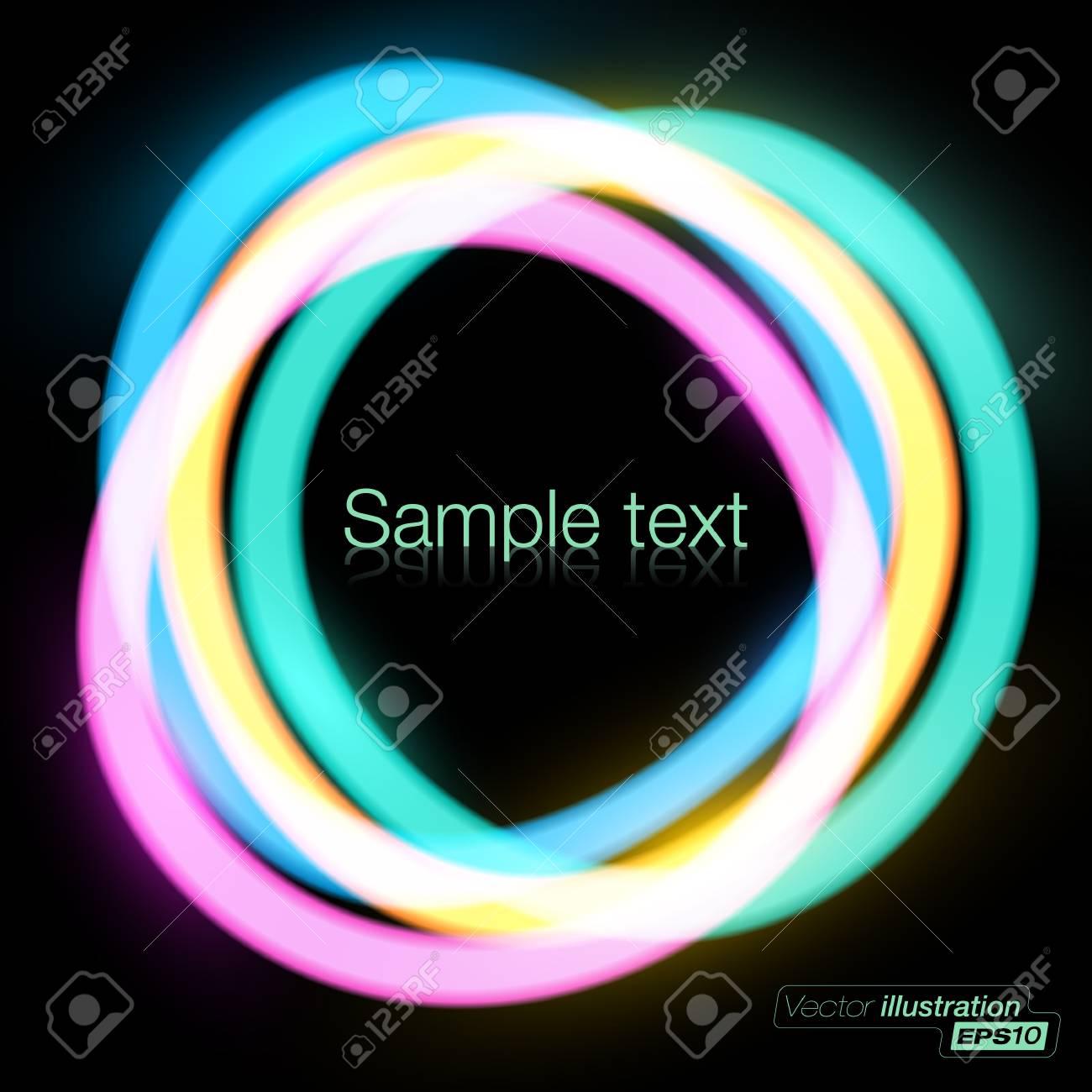 Abstract vector circles background Stock Vector - 14580674