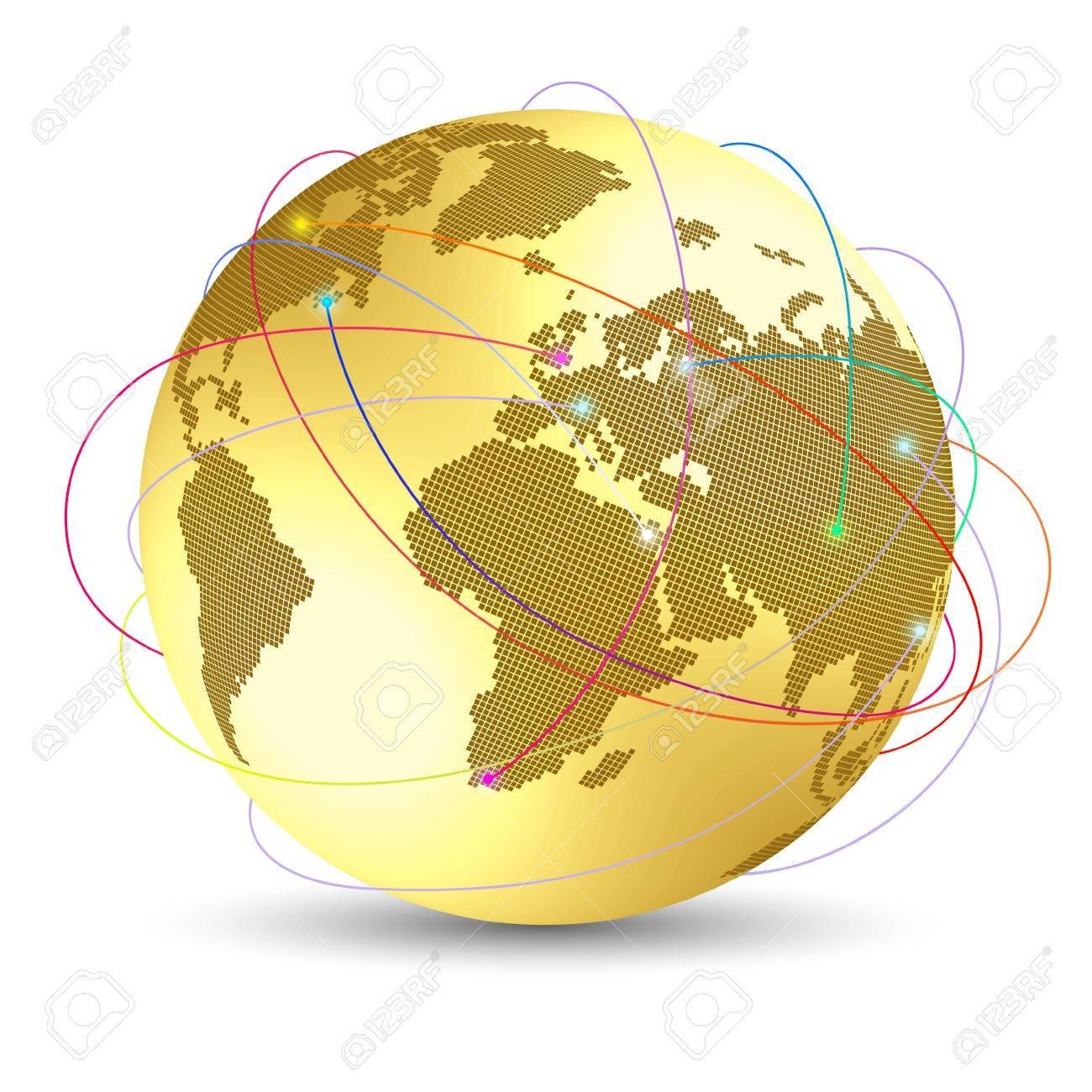 Global internet concept - 14580957
