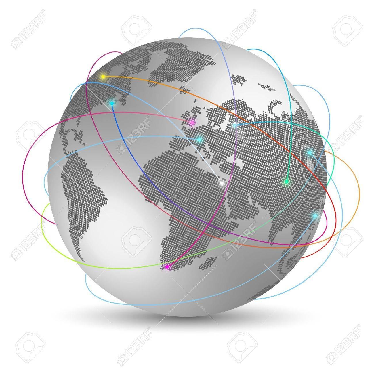 Global internet concept - 14580959