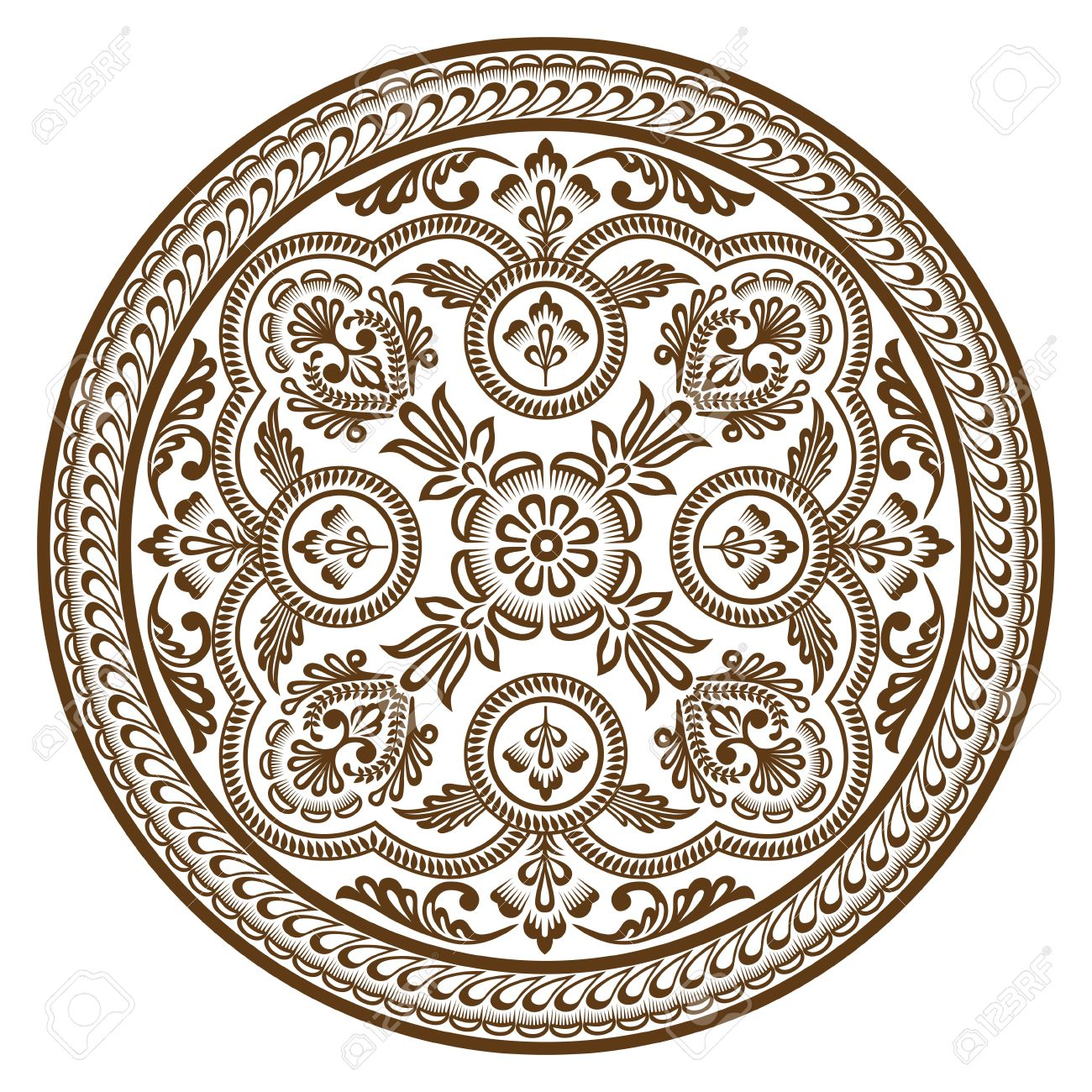 Ornament circle - 14580772