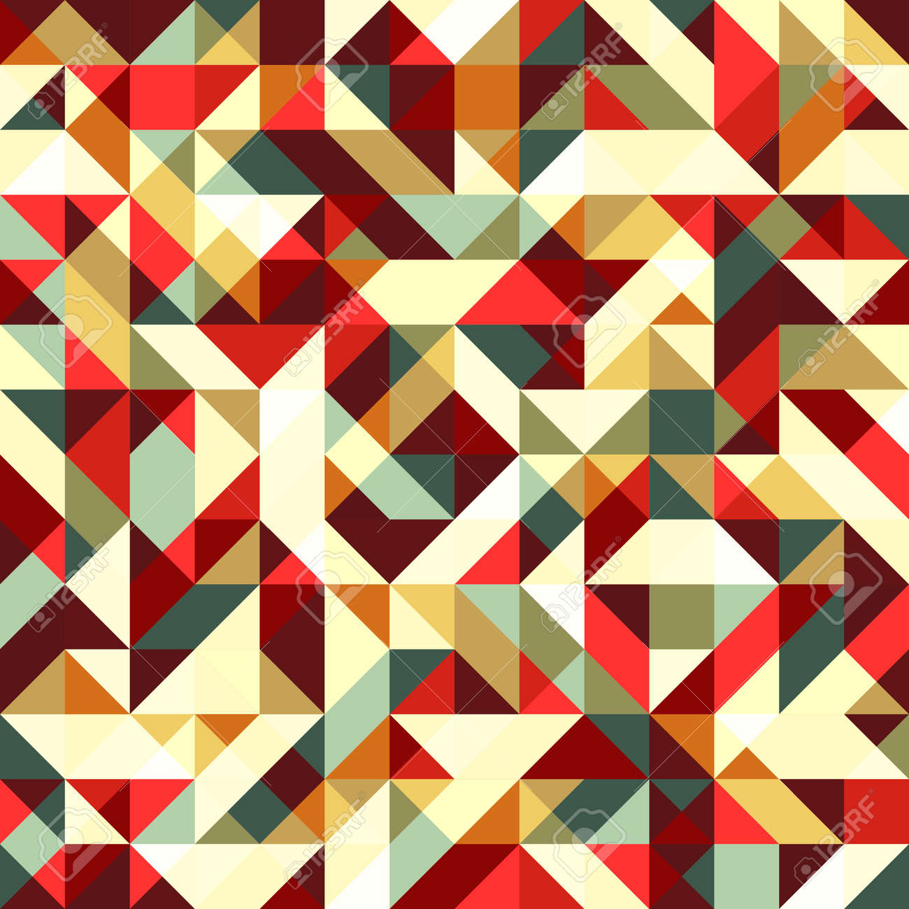Abstract seamless mosaic background Stock Vector - 16812420