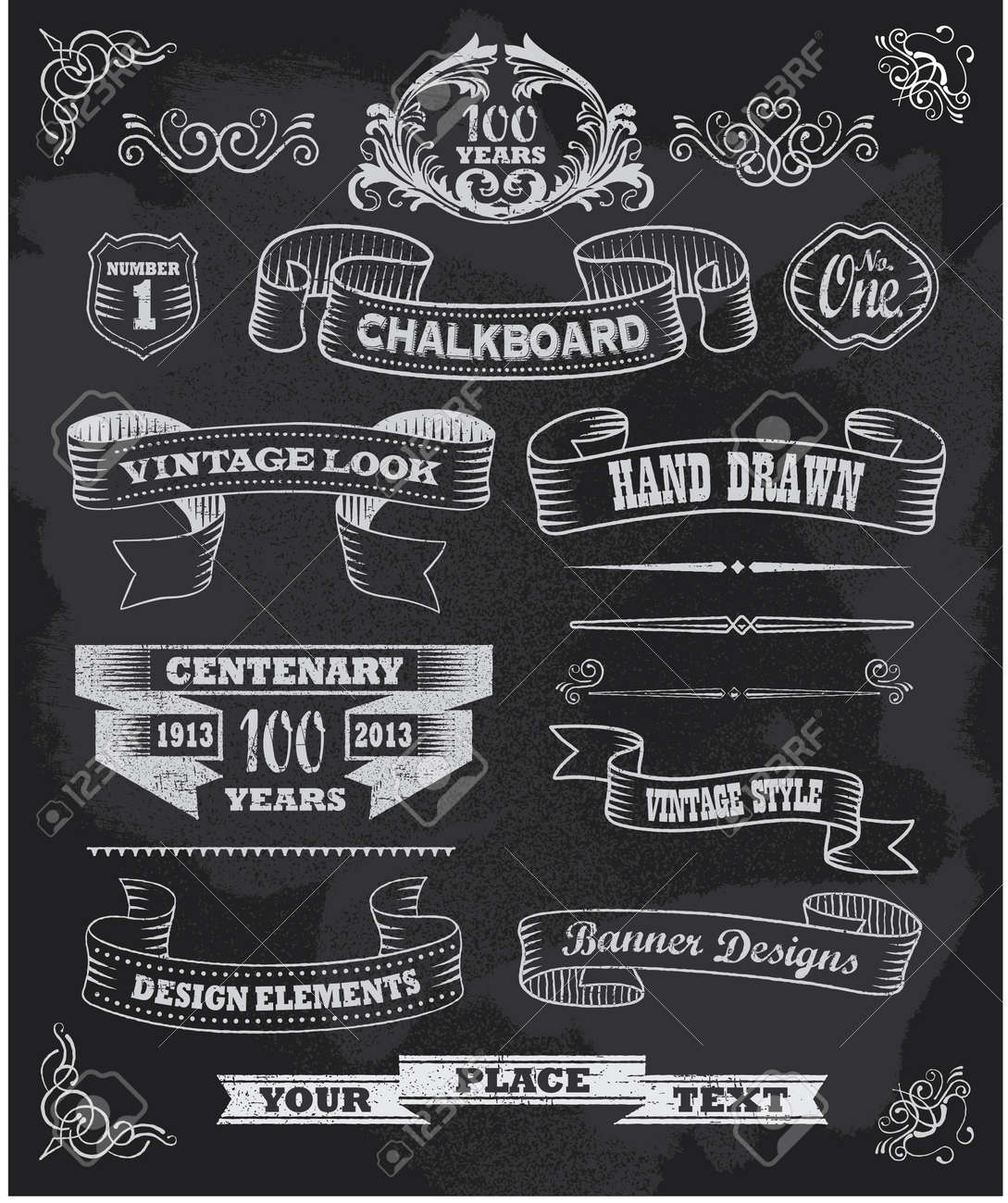 Chalkboard Designs 139746 Chalkboard Cliparts Stock Vector And Royalty Free