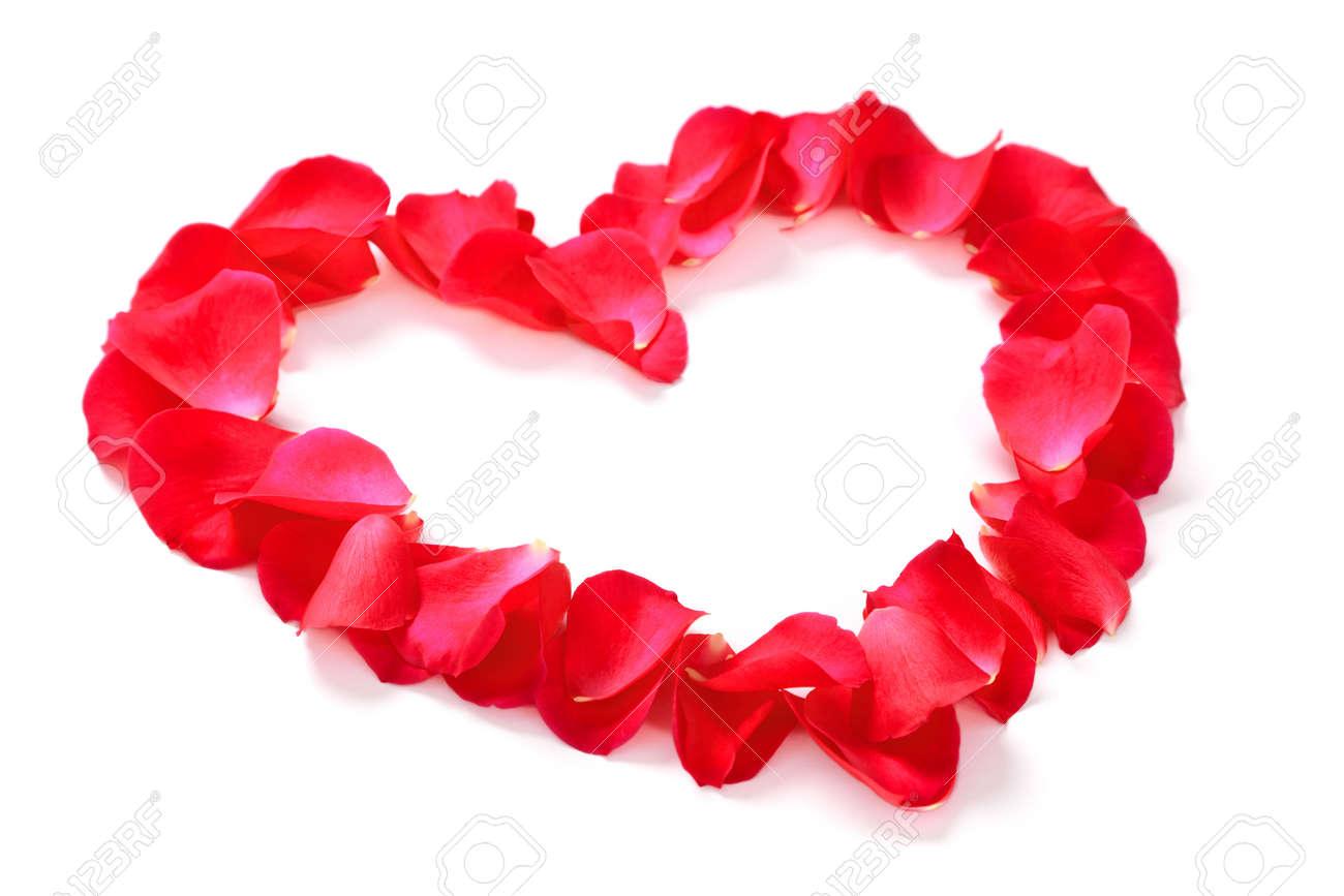 Heart Of Rose Petals. Royalty Free Stock Photos - Image: 35942768