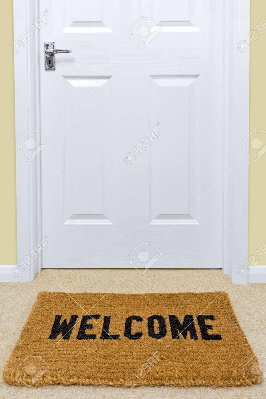 Welcomemat Open Front Door Welcome Mat