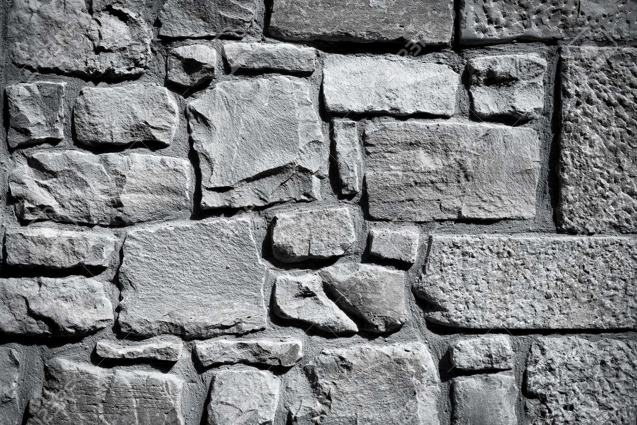 White Stone Wall Textures Black And White Stone Wall