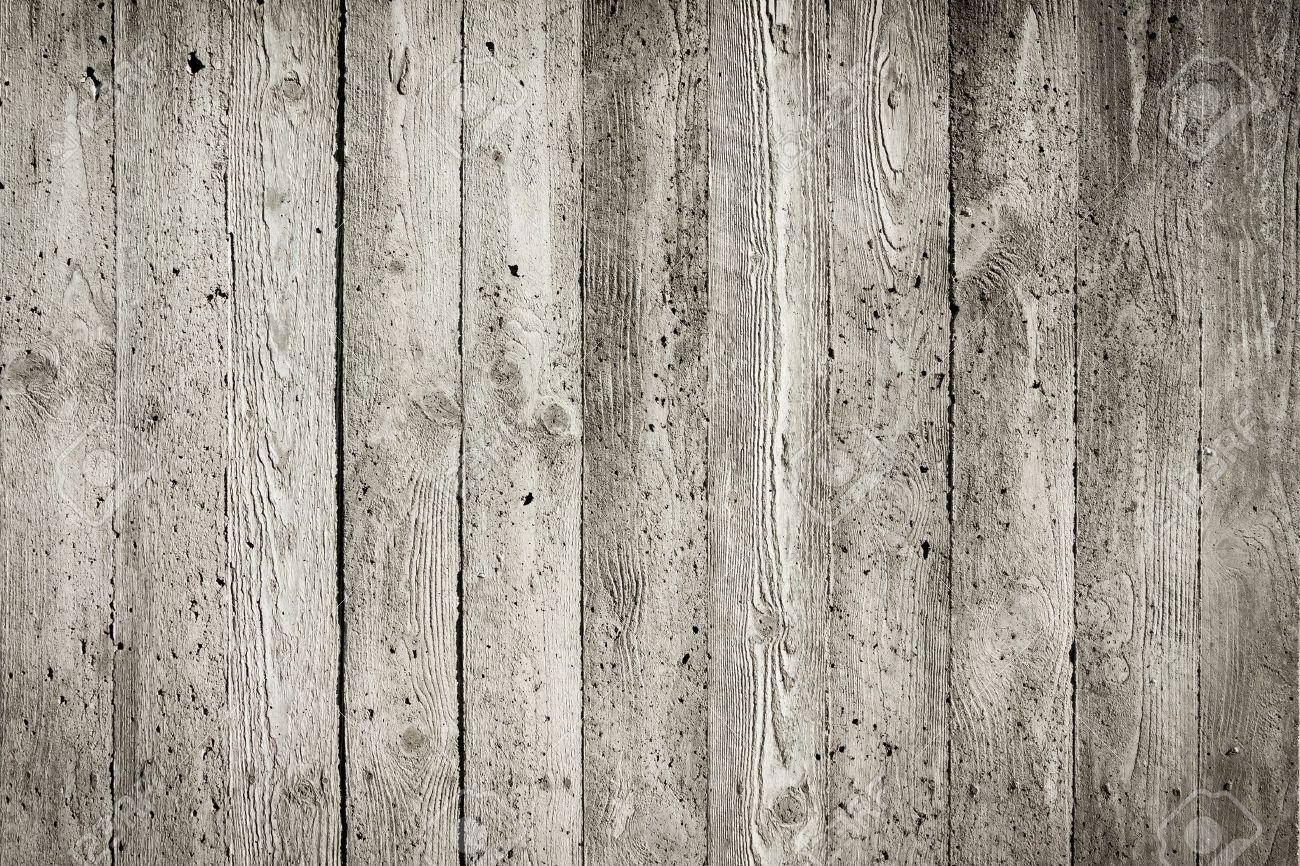 Striped gray concrete wall background texture - 18906935