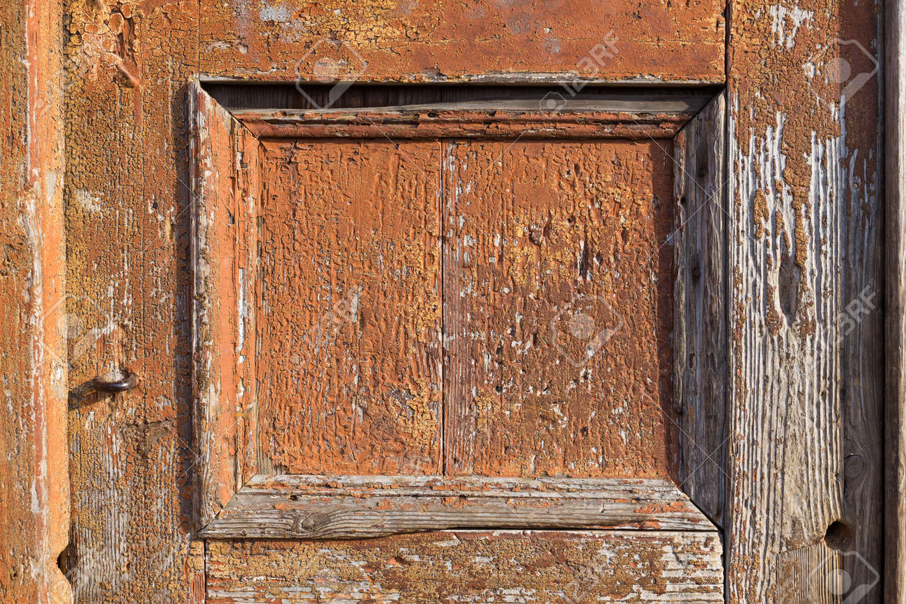 Old Wood Background Door Frame For Texture Stock Photo Picture And